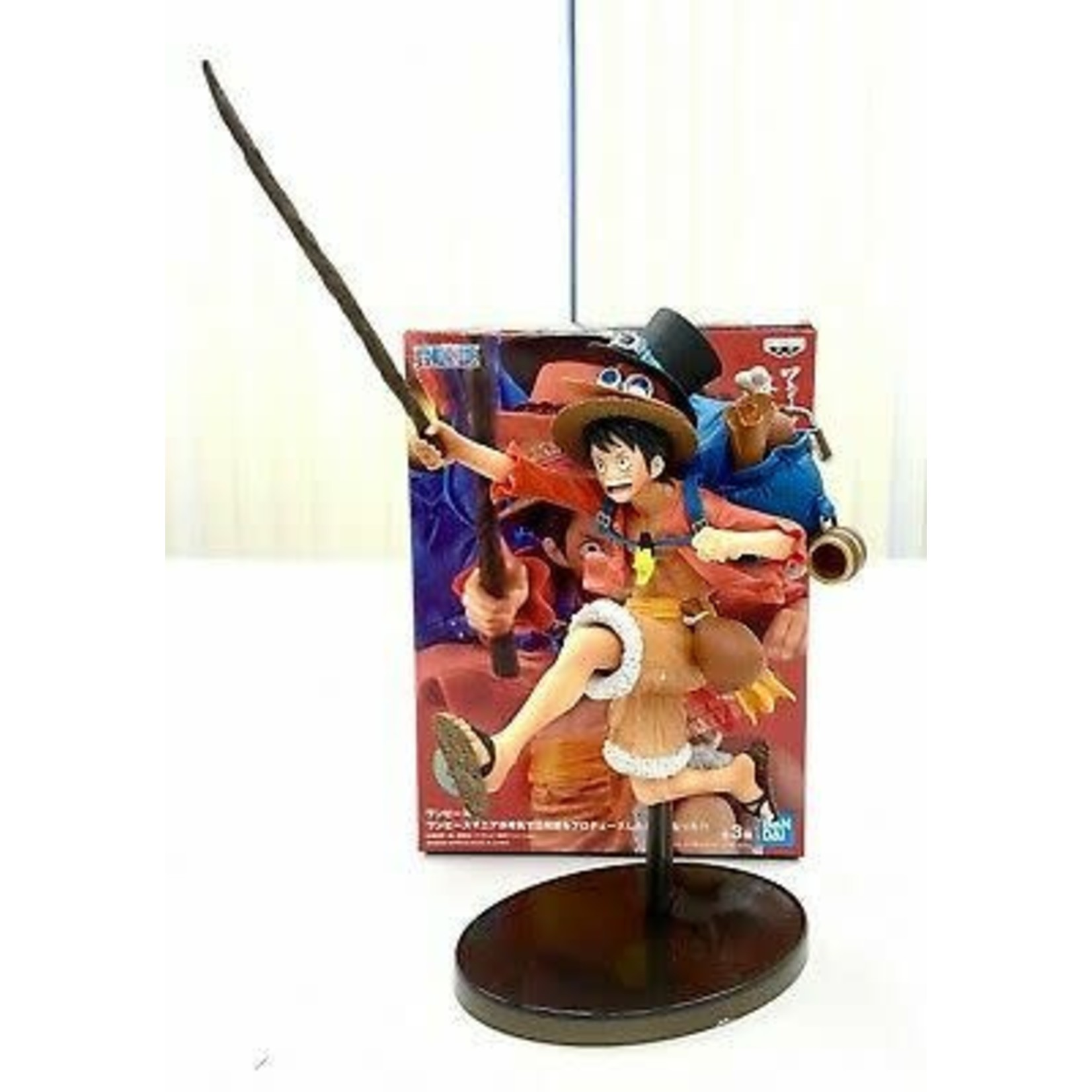 FIGURE-One Piece 3 Brothers Monkey D Luffy
