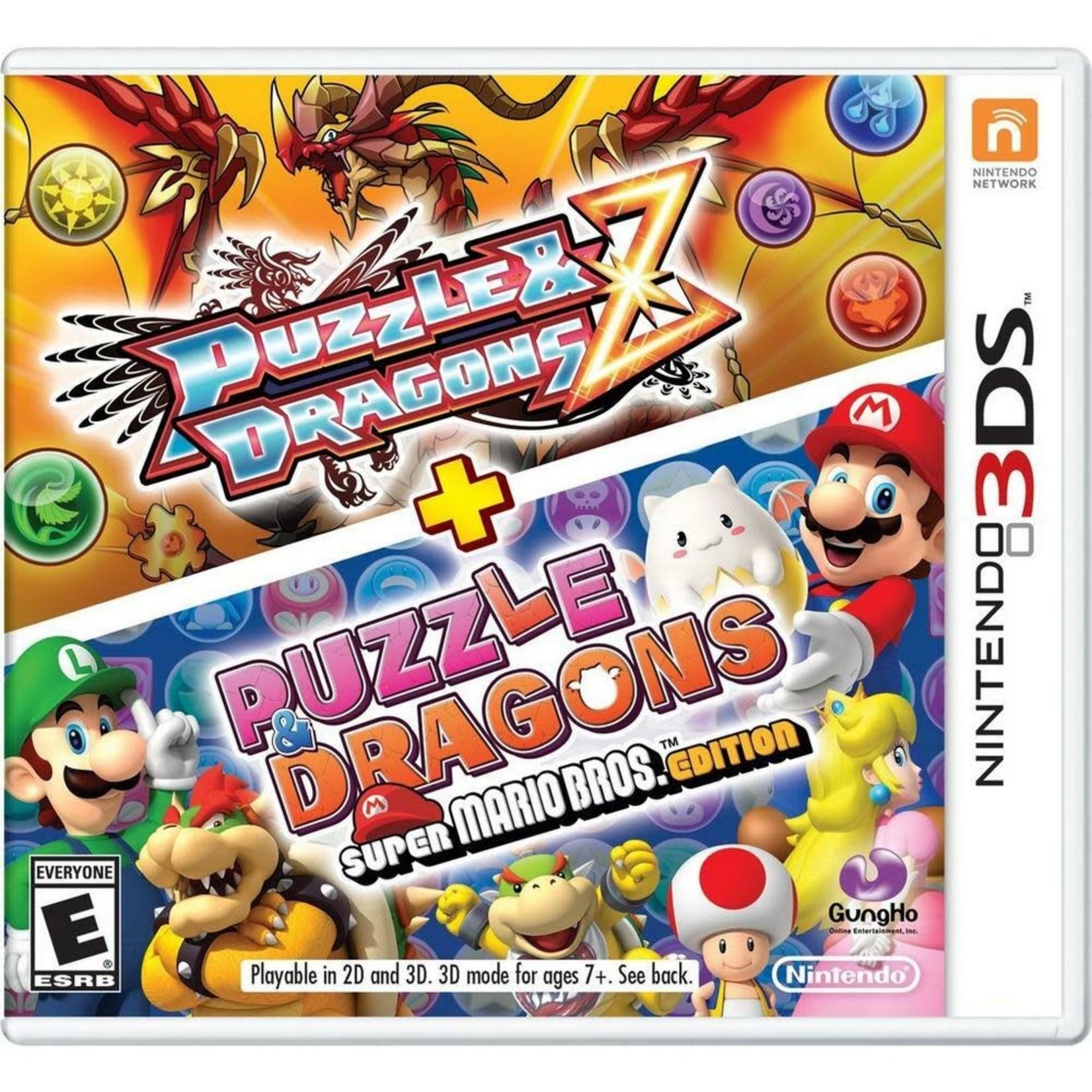 3DS-Puzzle & Dragons Z Plus Puzzle & Dragons Super Mario Bros
