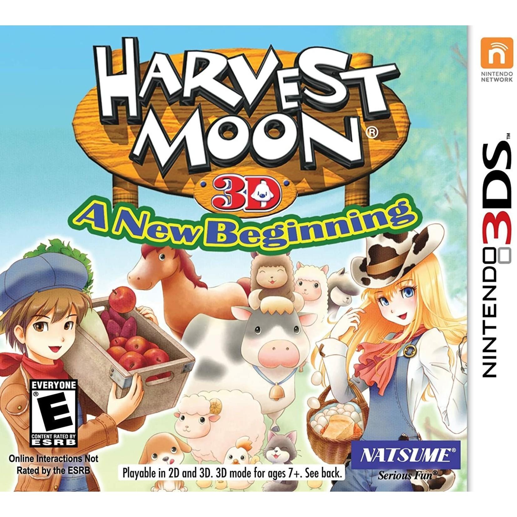 3DS-Harvest Moon: A New Beginning