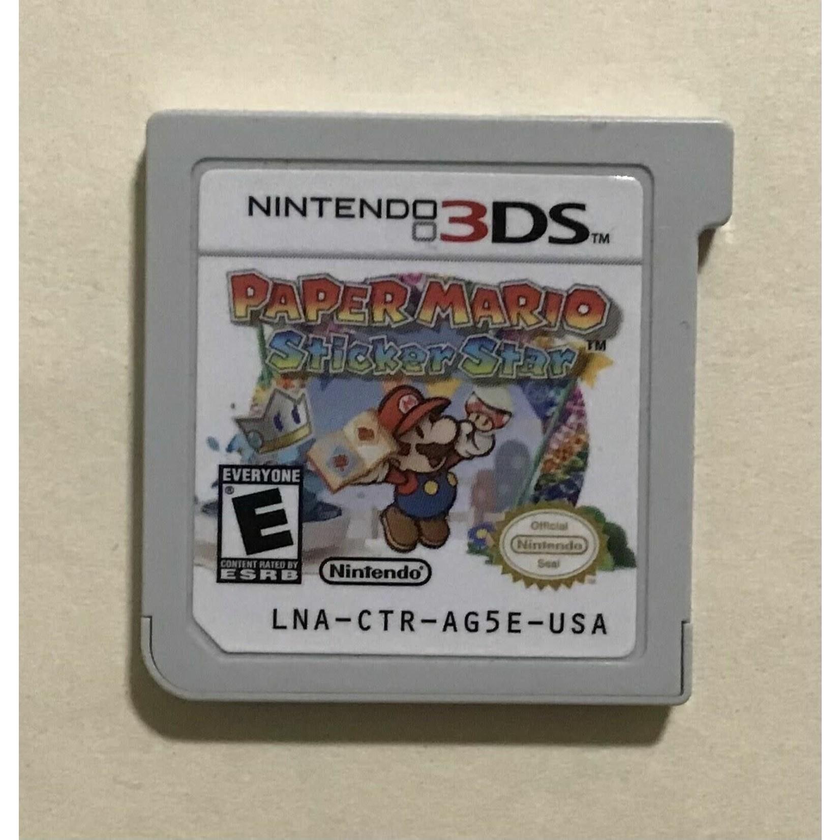 3DSu-Paper Mario Sticker Star (chip only)
