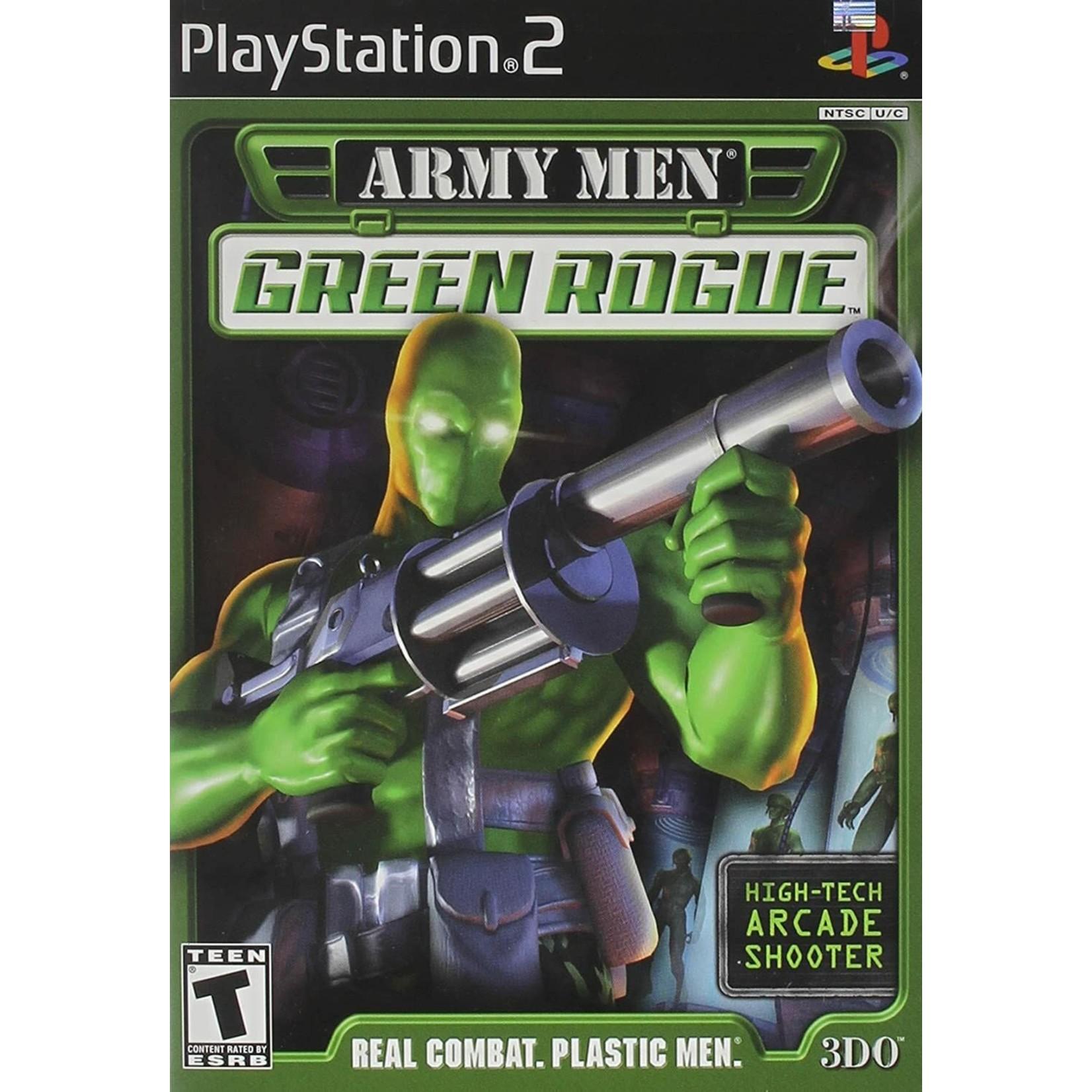 ps2u-Army Men Green Rogue