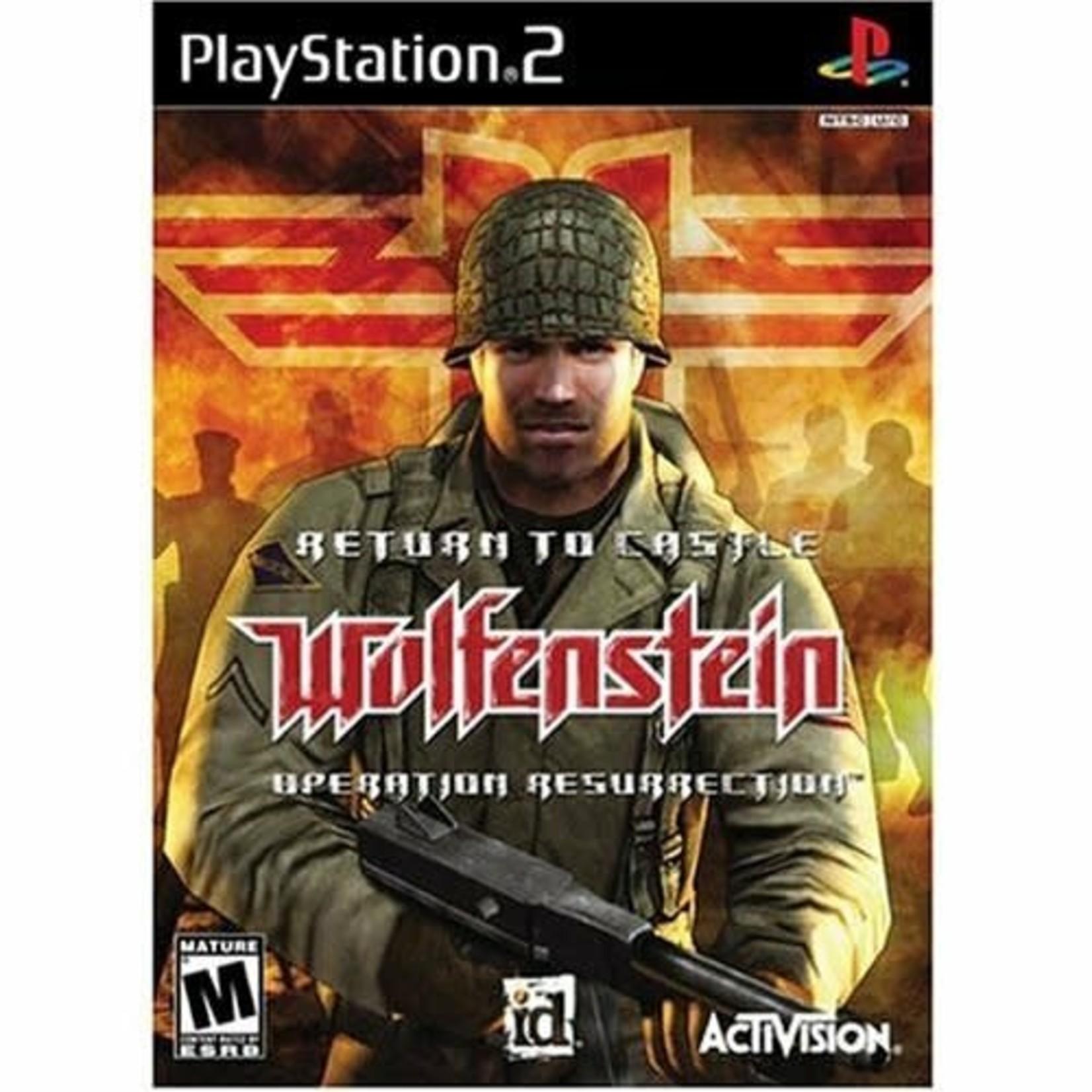 PS2U-Return To Castle Wolfenstein: Operation Resurrection