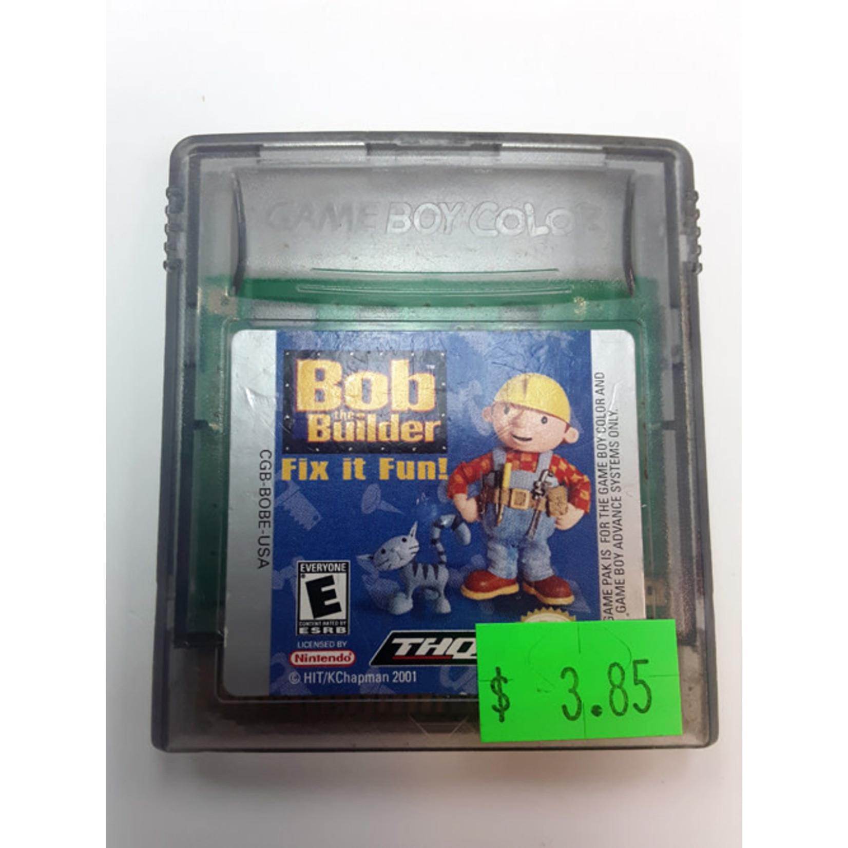 GBCU-BOB THE BUILDER FIX IT FUN  (cartridge)