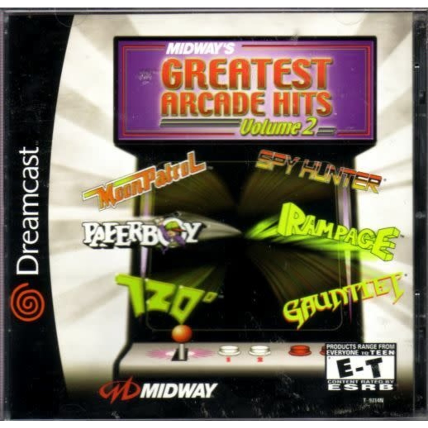SDCU-Midway's Greatest Arcade Hits Volume 2