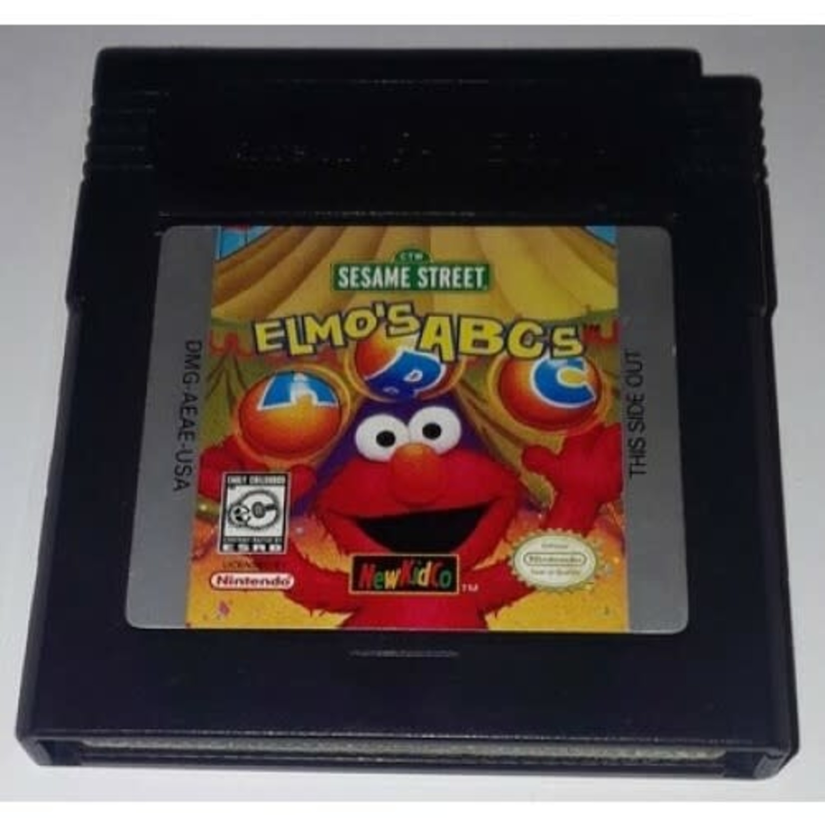 GBCU-Sesame Street Elmo's ABCs (CARTRIDGE)