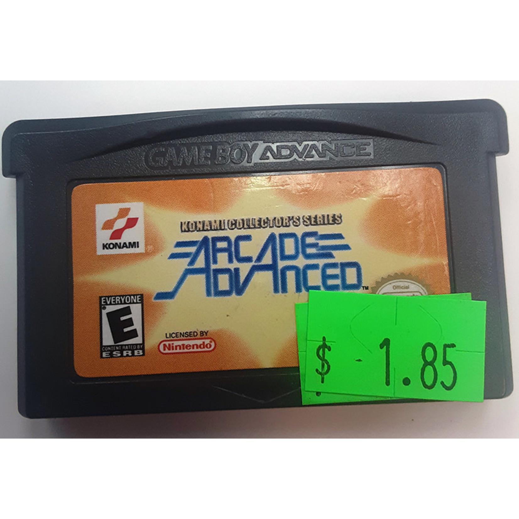 GBAu-Konami Collector's Series Arcade Advanced (cartridge)