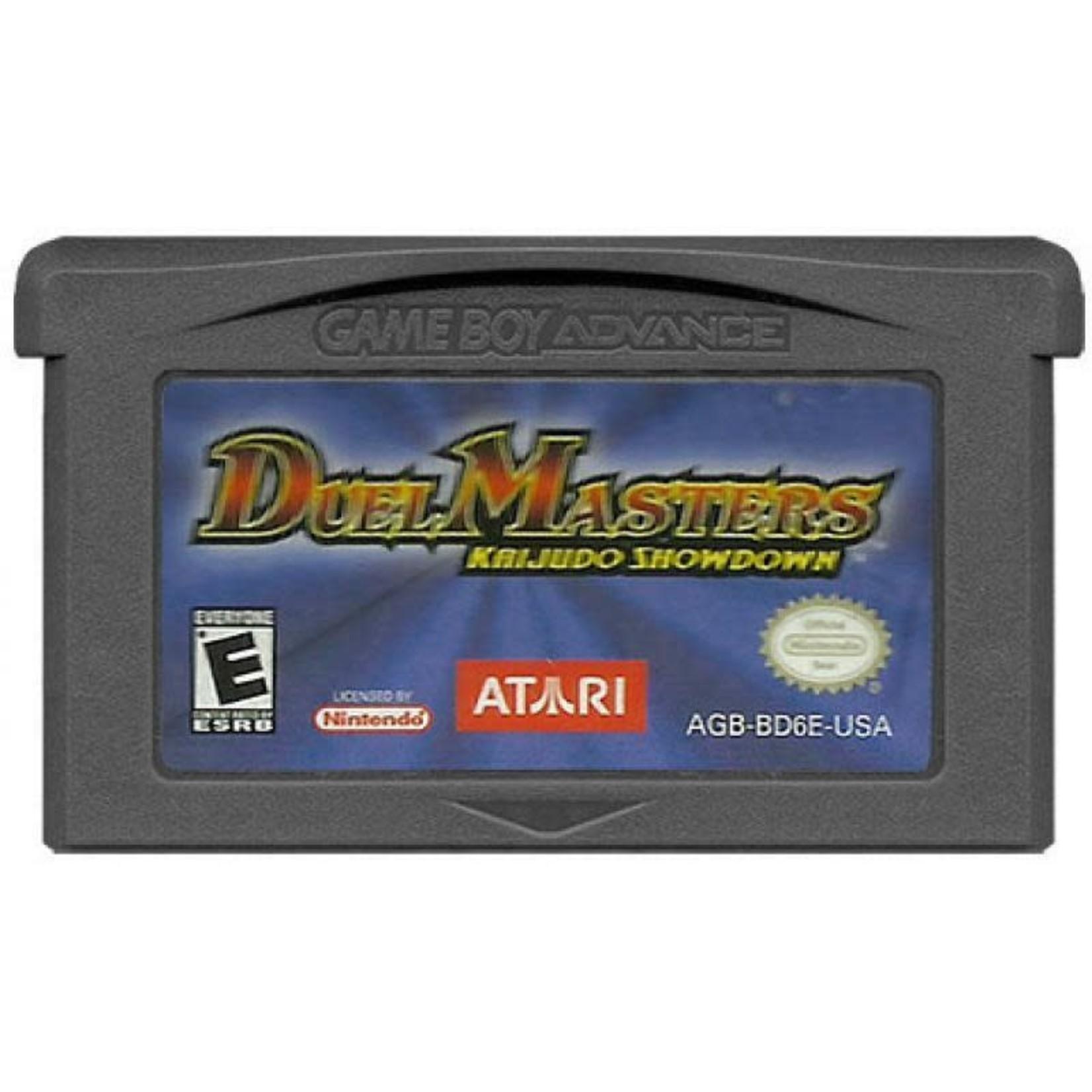 GBAU-Duel Masters Kaijudo Showdown (cartridge)
