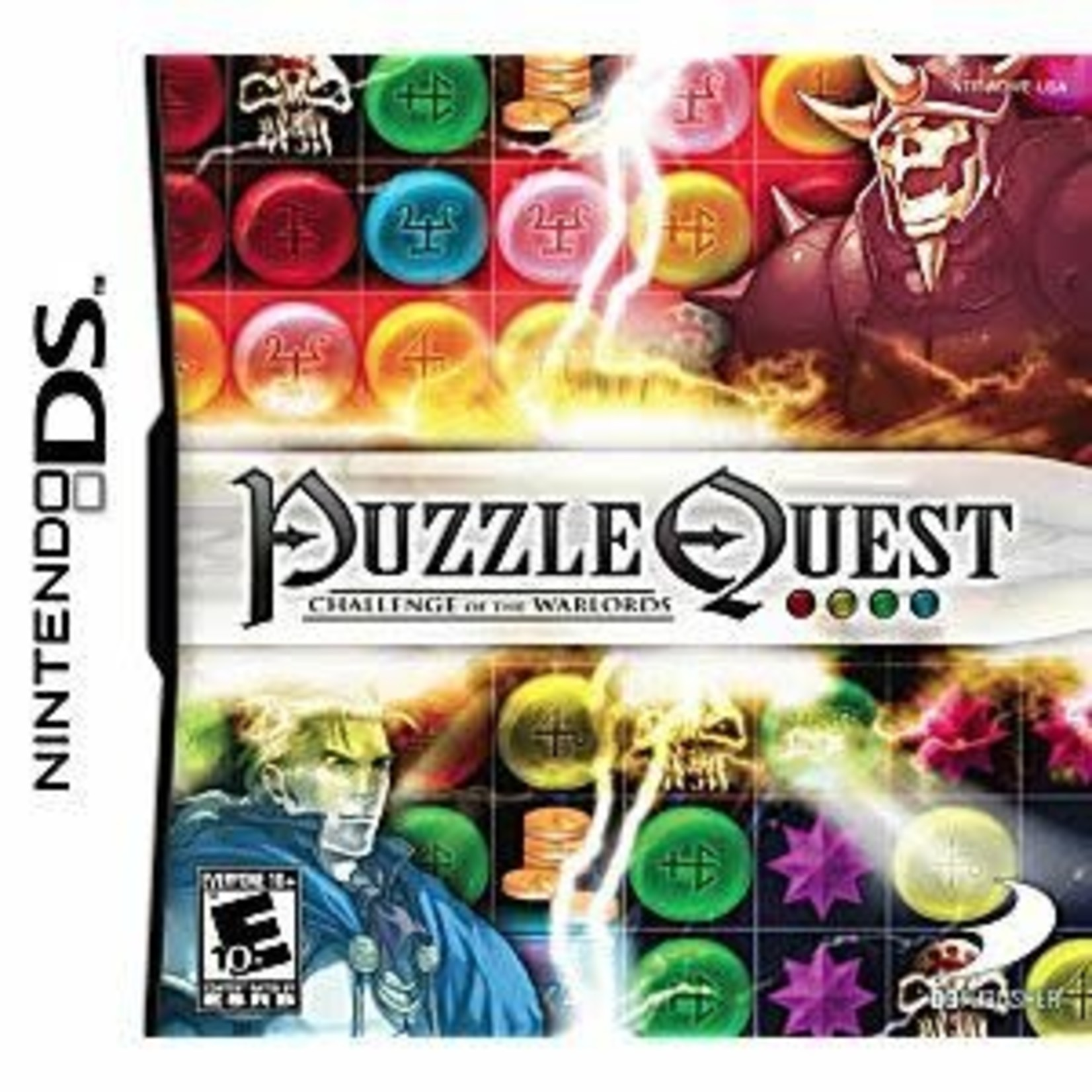 DS-Puzzle Quest: Challenge of the Warlords