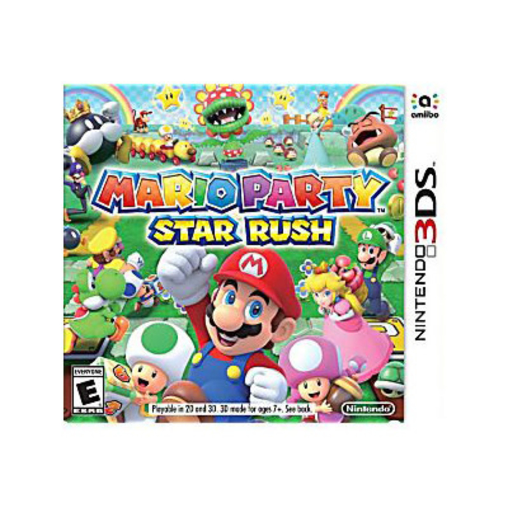 3DS-Mario Party Star Rush