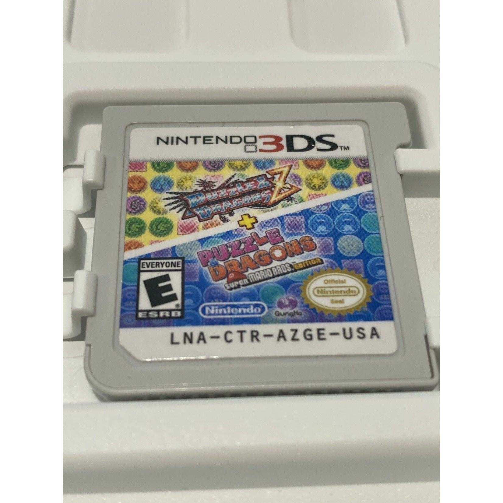 3DSU-Puzzle & Dragons Z + Puzzle & Dragons: Super Mario Bros. Edition (Chip Only)