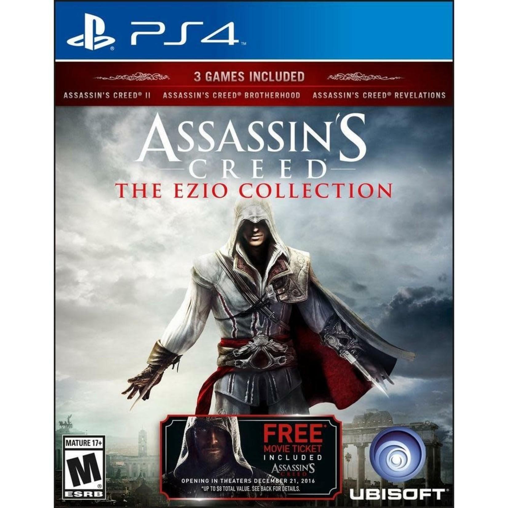 PS4U-Assassin's Creed: The Ezio Collection