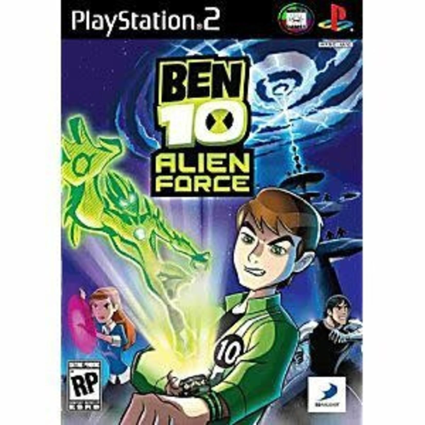 PS2U-Ben 10 Alien Force