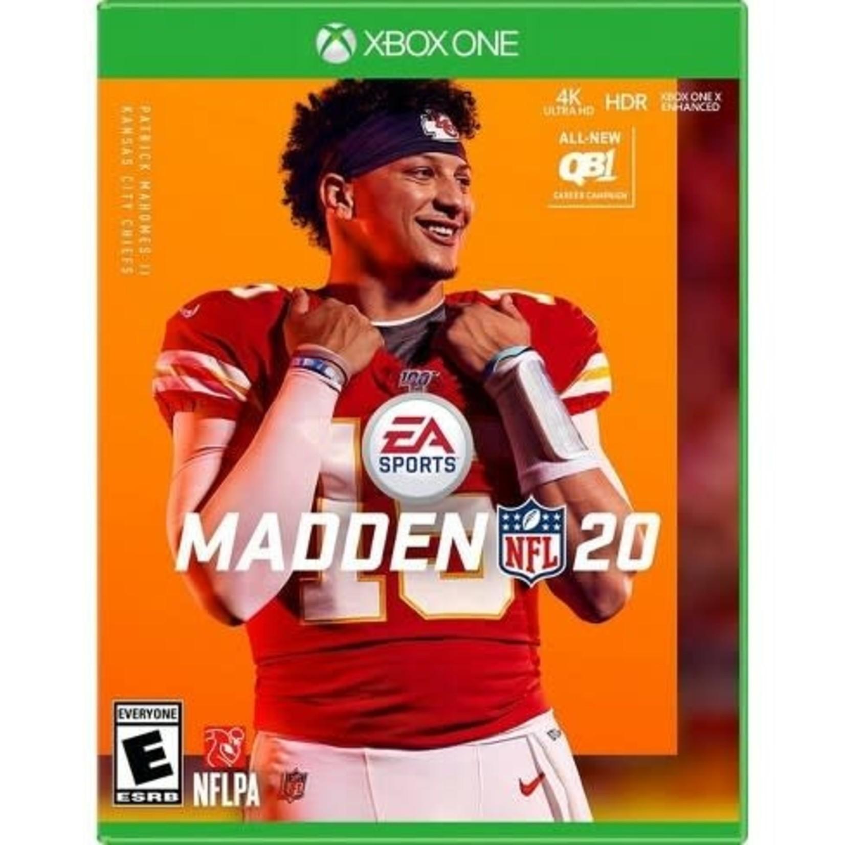XB1-Madden NFL 20