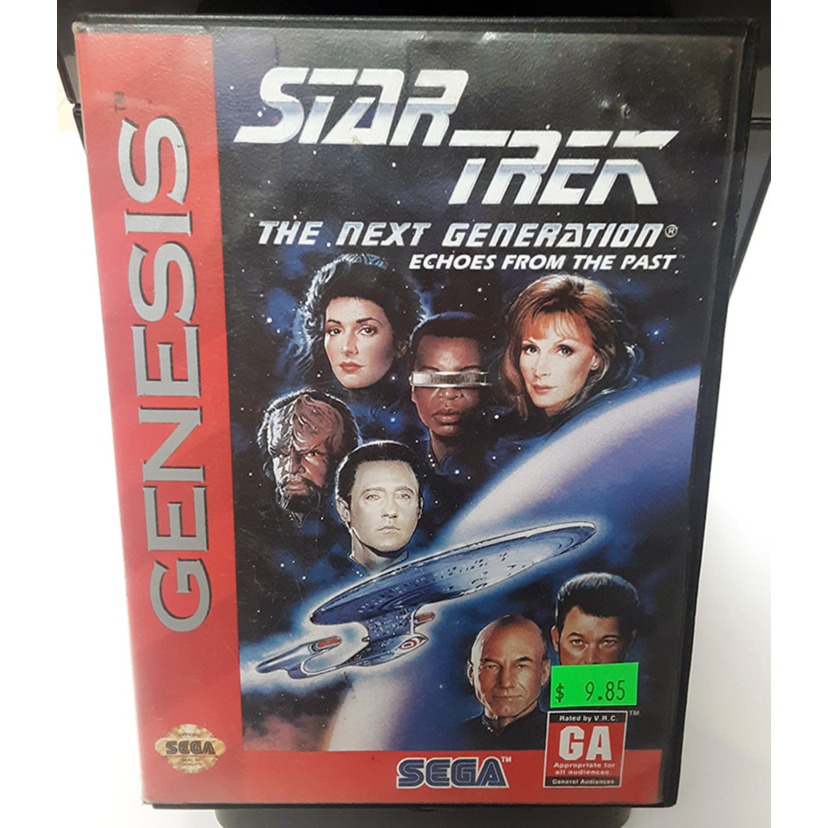 SGU-Star Trek Next Generation Echoes From the Past (boxed)