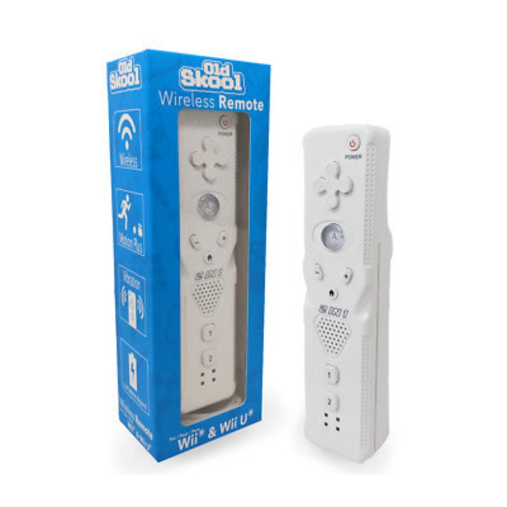Old Skool Wii Mote (white)