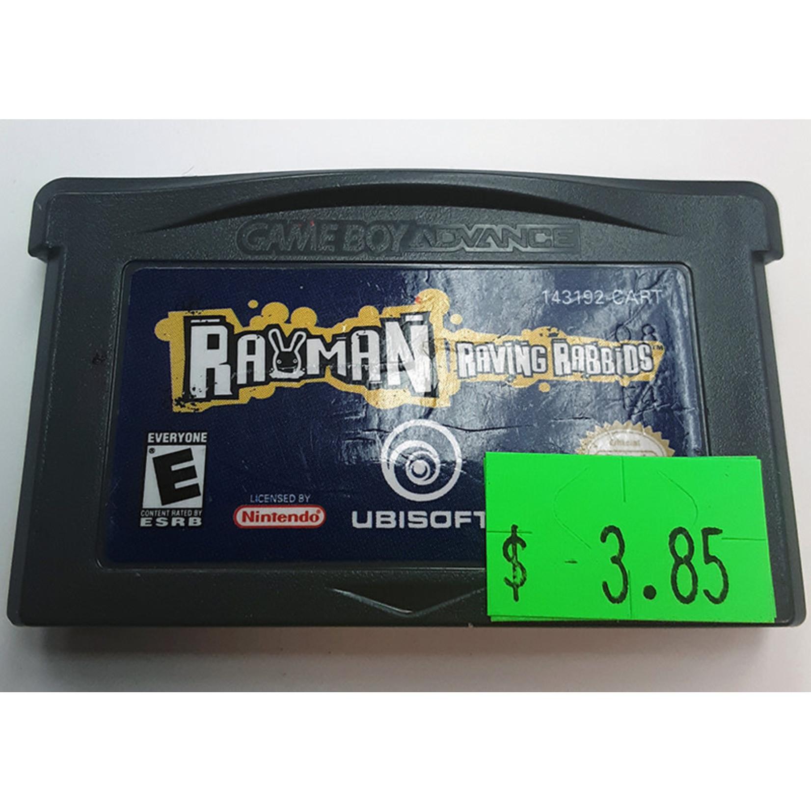 GBAu-Rayman Raving Rabbids (cartridge)