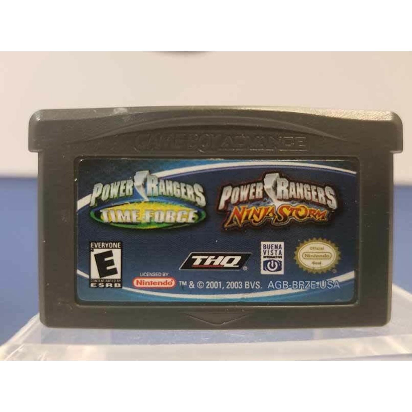 GBAU-Power Rangers Time Force & Ninja Storm