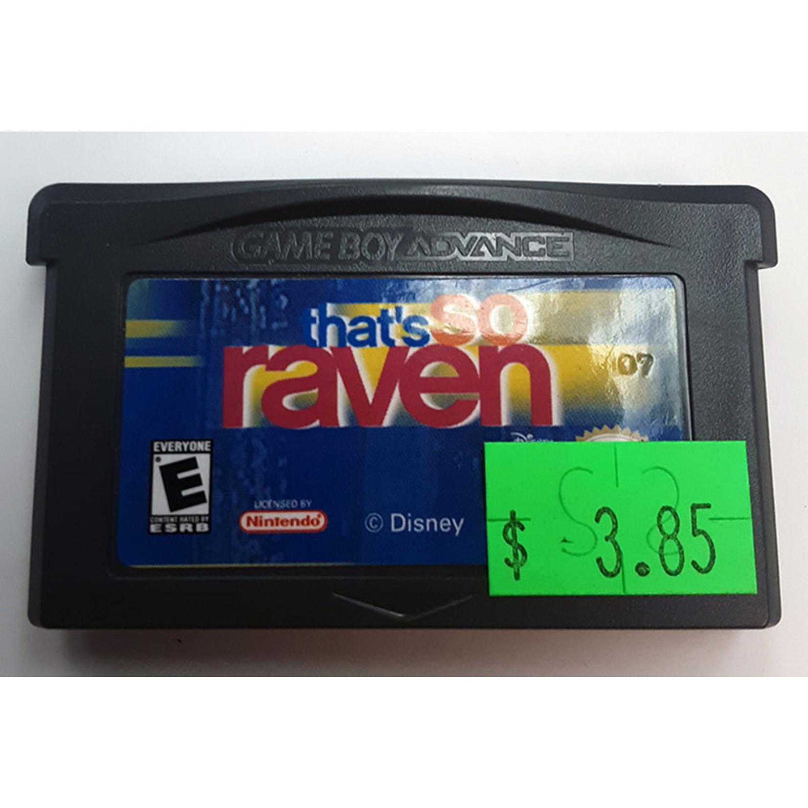 GBAu-That's So Raven (cartridge)