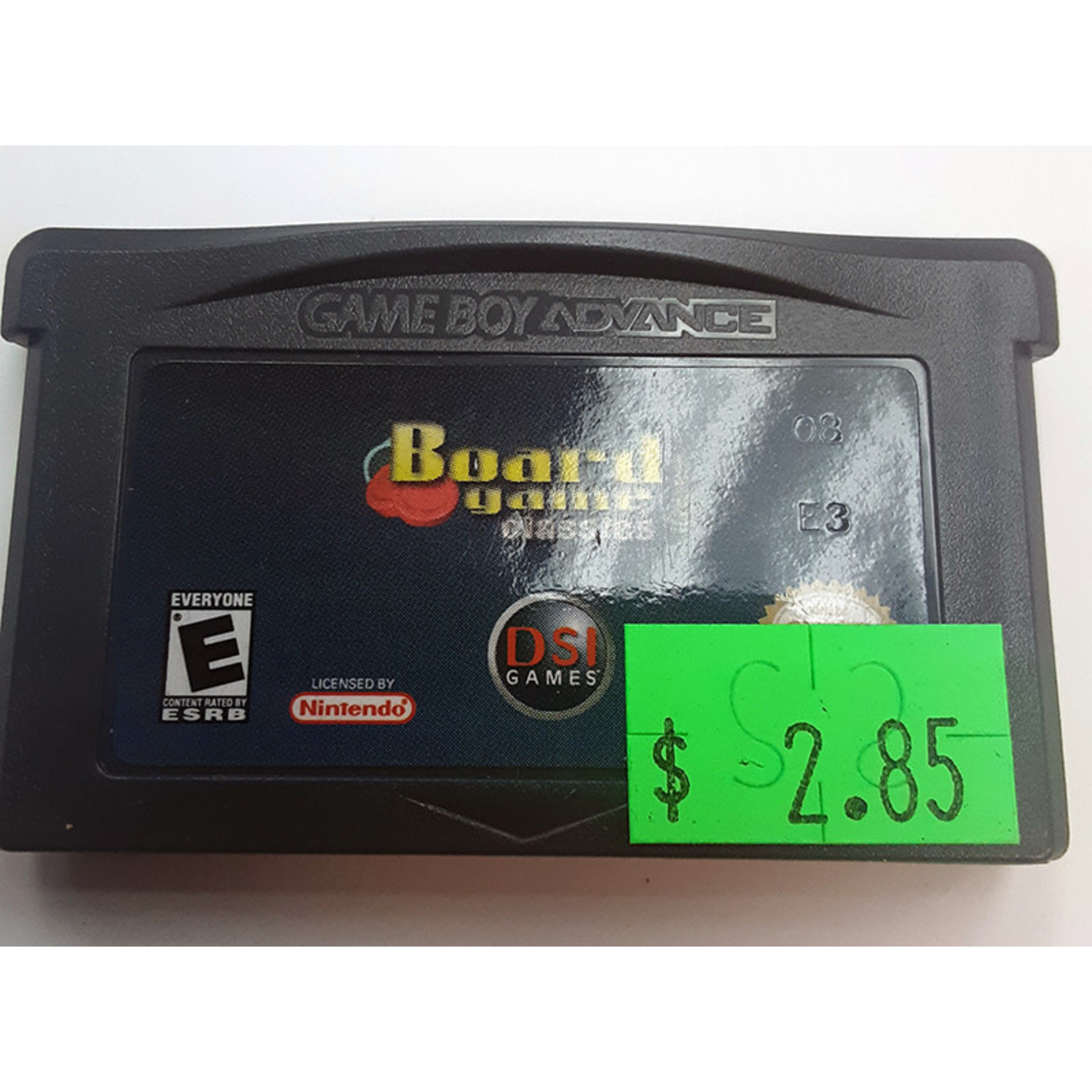GBAu-Board Game Classics (cartridge)