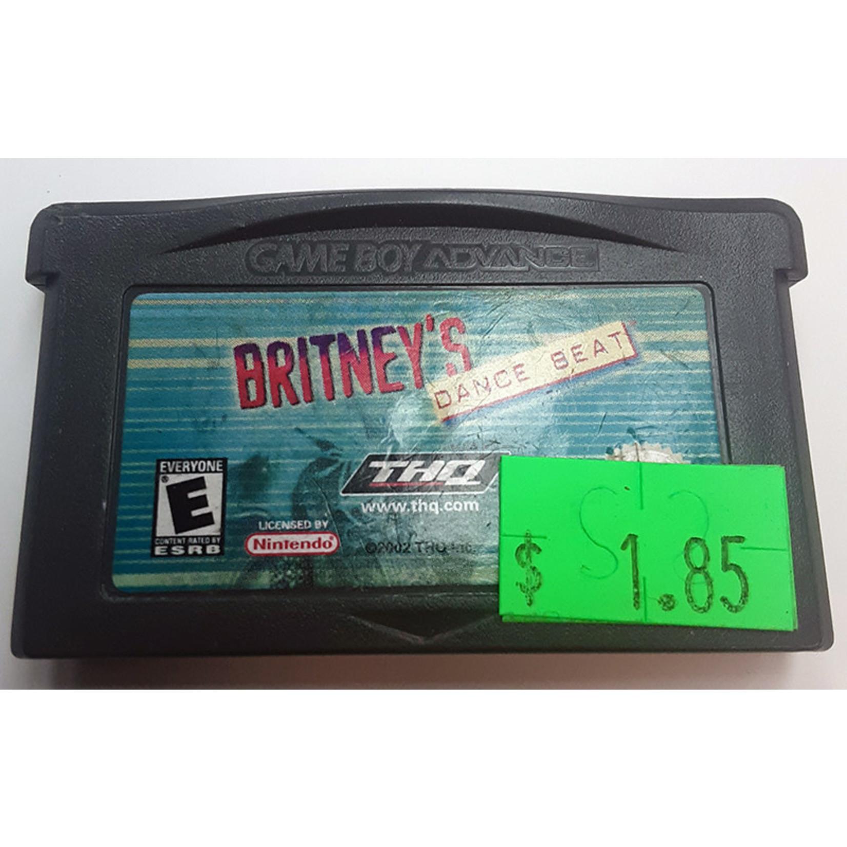 GBAu-Britney's Dance Beat (cartridge)