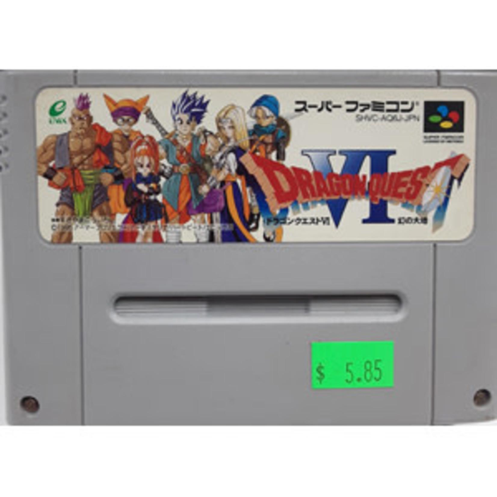 IMPORT-SFCU-Dragon Quest VI