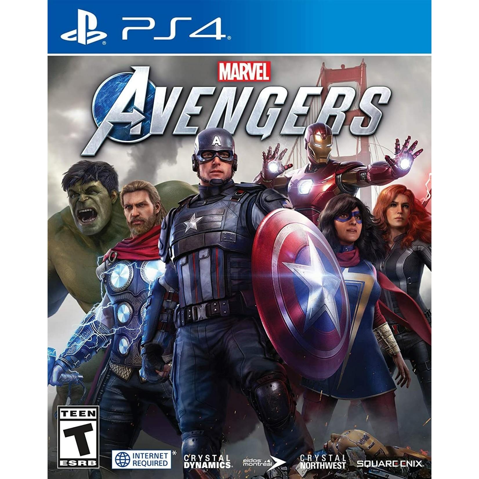 PS4-Marvel's Avengers