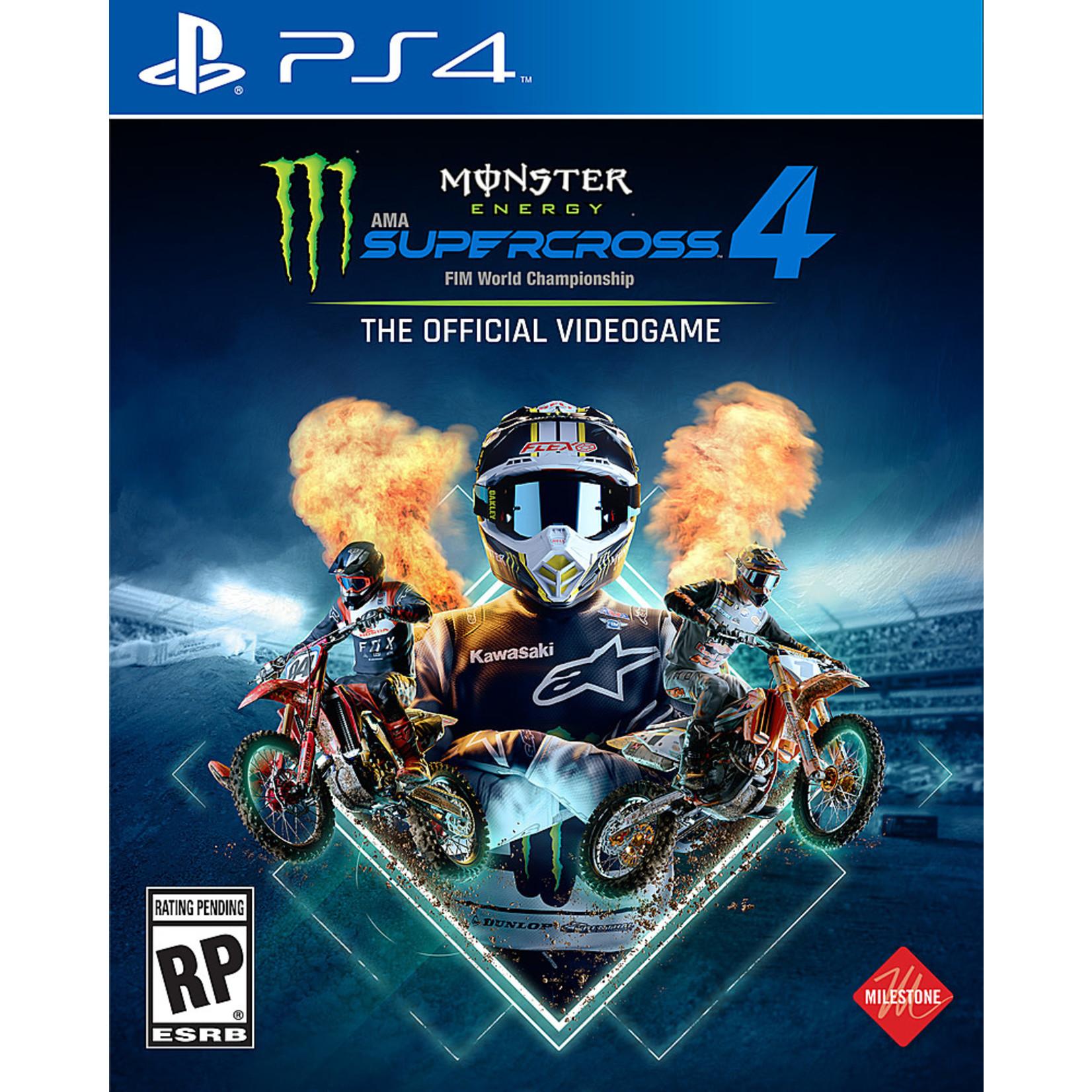 PS4-Monster Energy Supercross 4