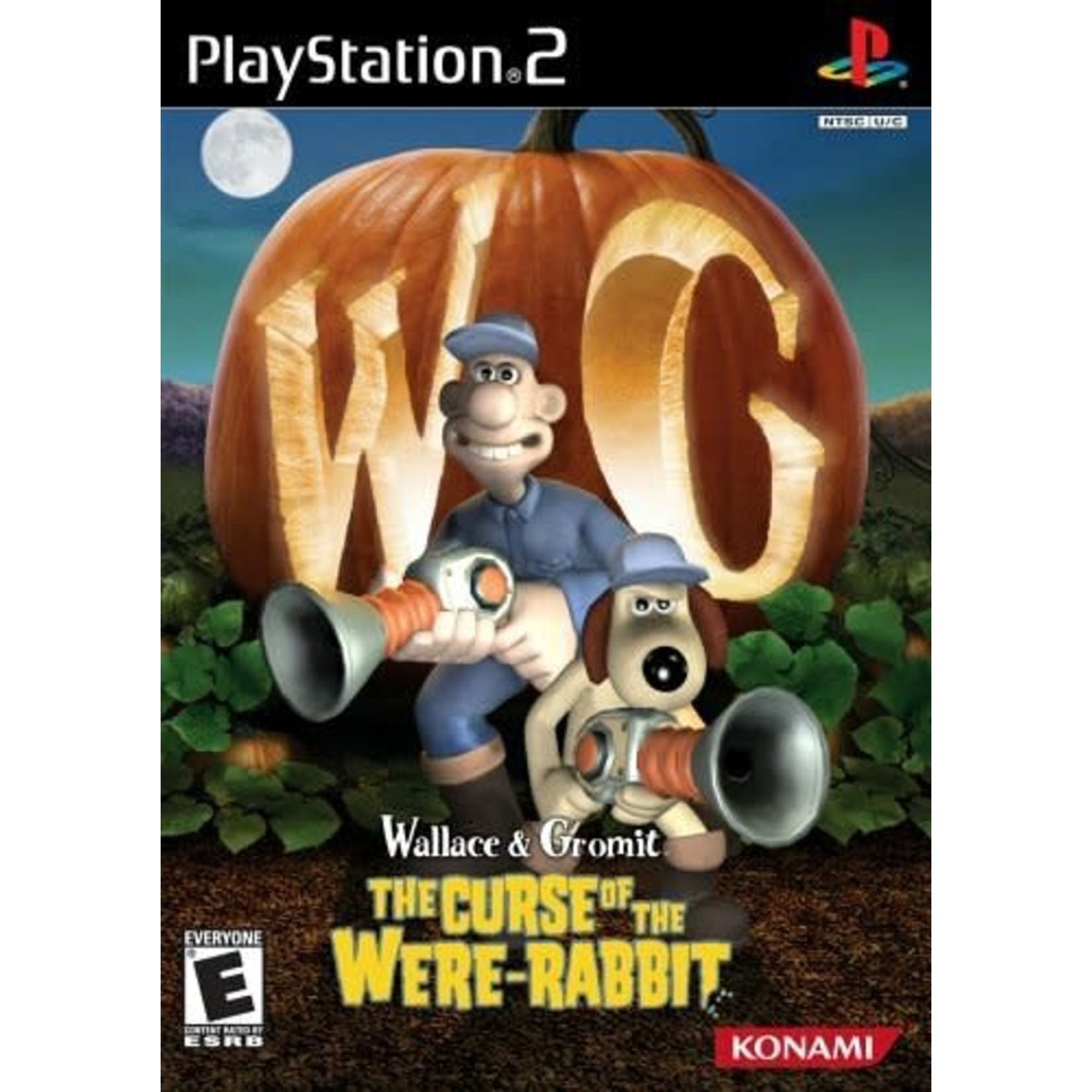PS2U-Wallace and Gromit Curse of the Were-Rabbit