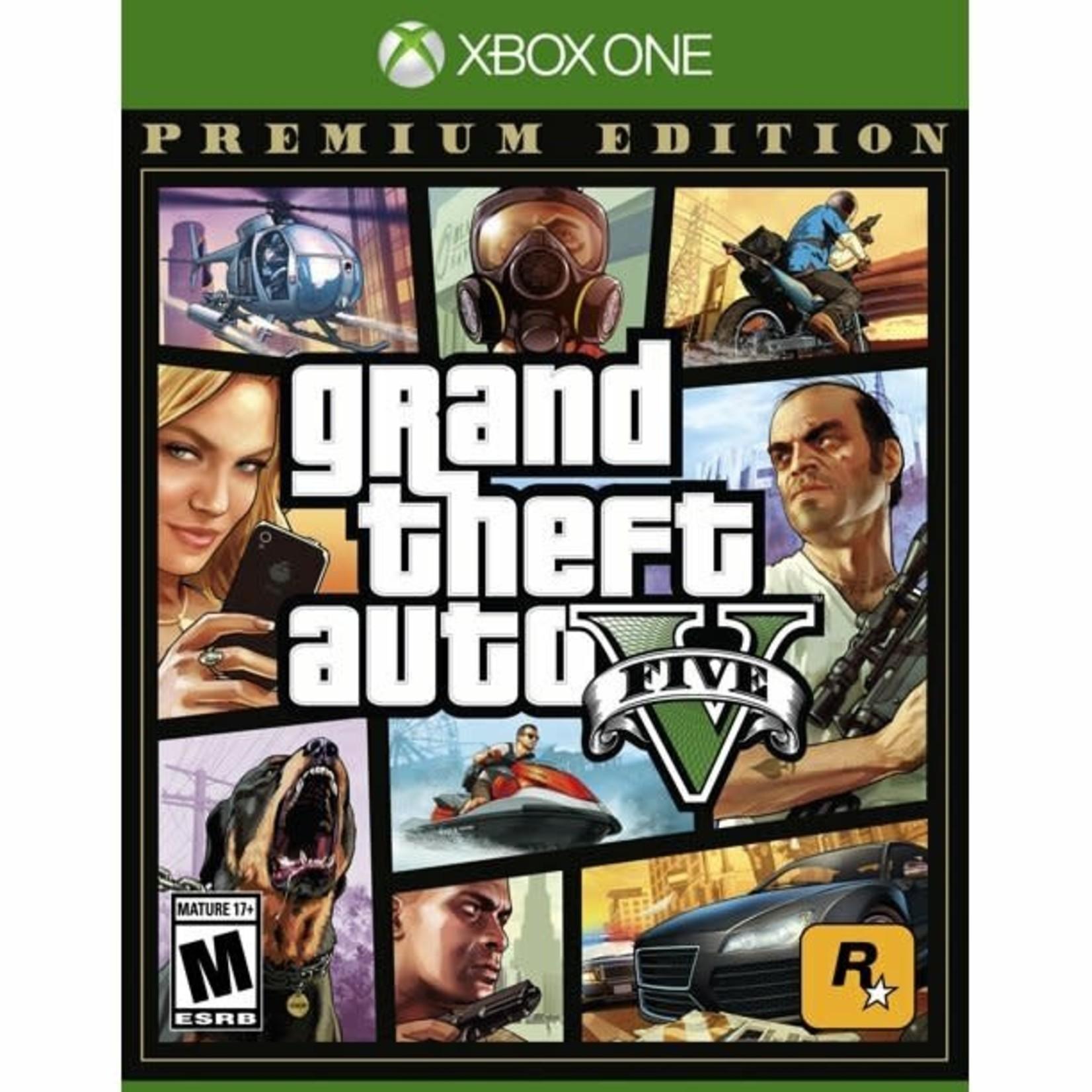 XB1-Grand Theft Auto V