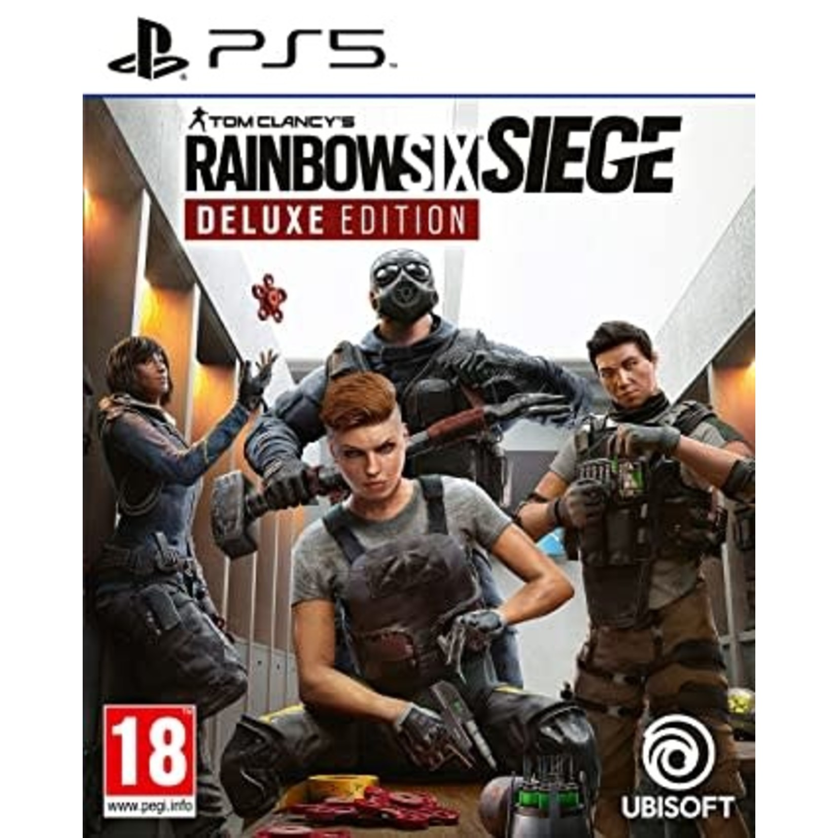 PS5-Tom Clancy's Rainbow Six Siege Deluxe Edition