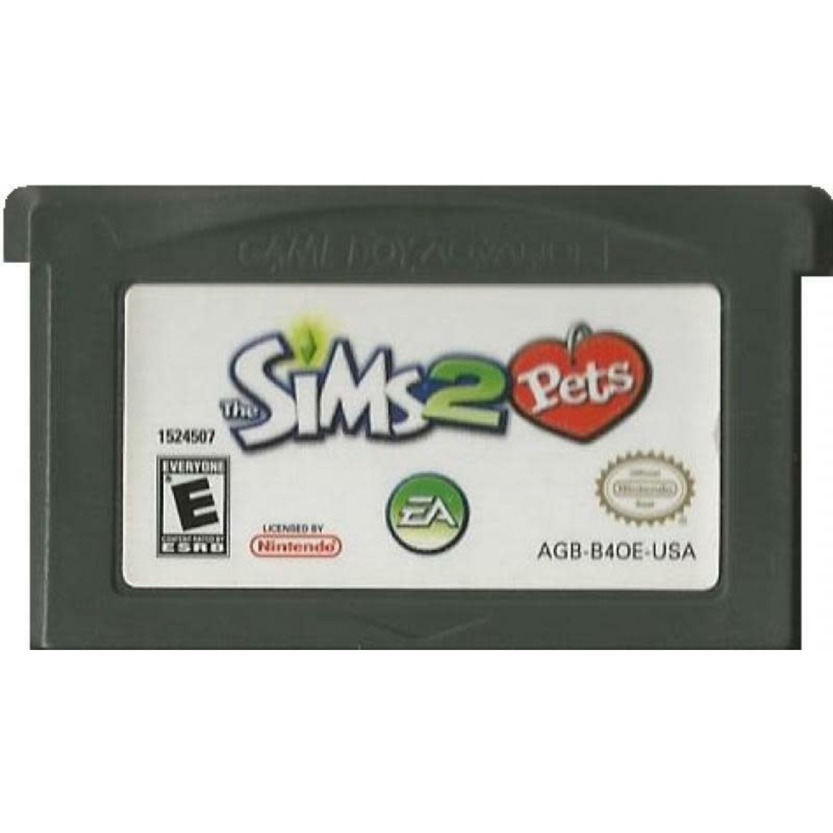 GBAU-The Sims 2 Pets (Cartridge Only)