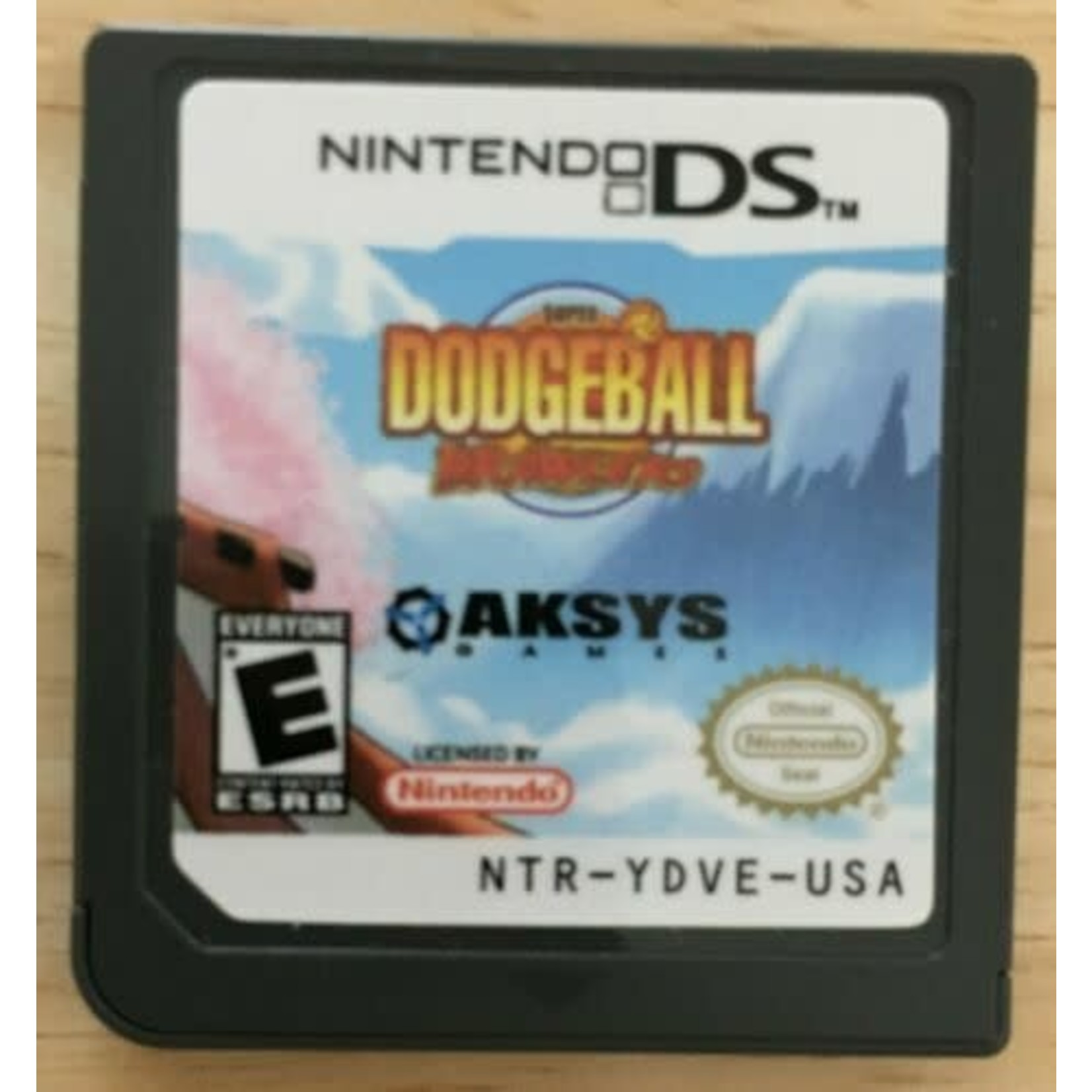 DSU-Super Dodgeball Brawlers (Chip Only)