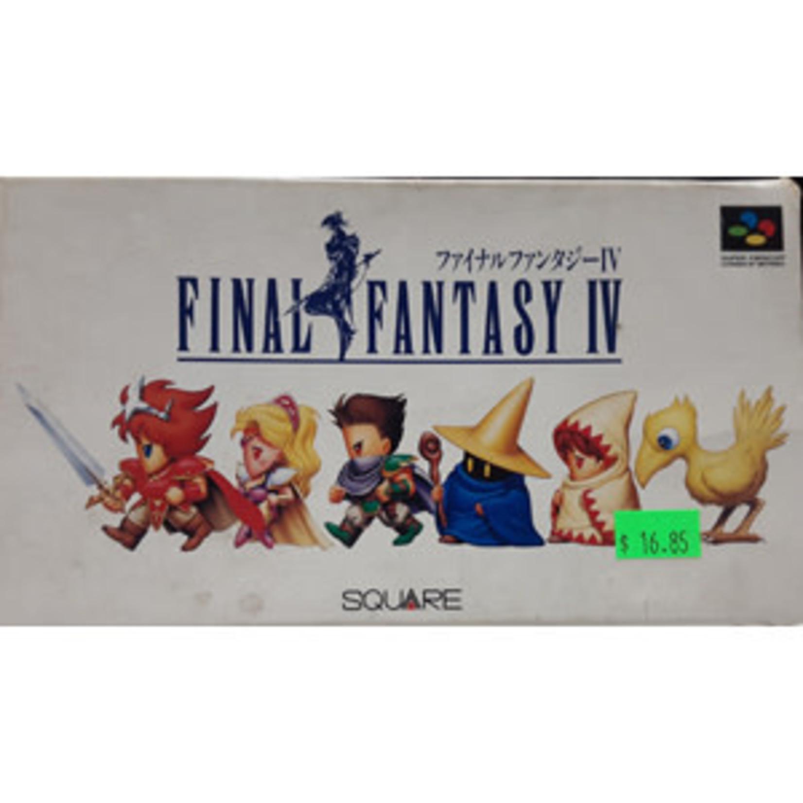 IMPORT-SFCU-Final Fantasy IV (In Box)