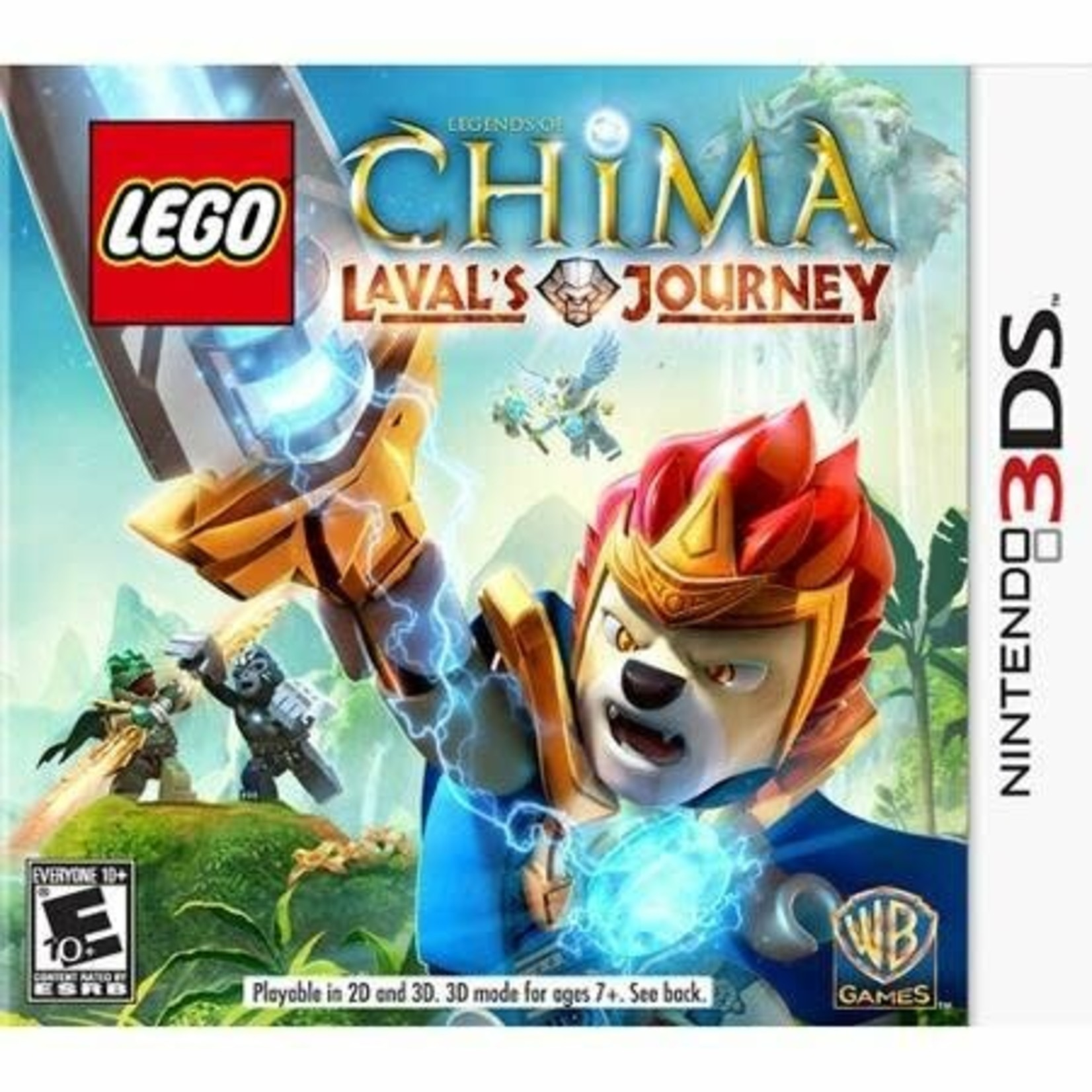 3DS-LEGO Legends of Chima: Laval's Journey