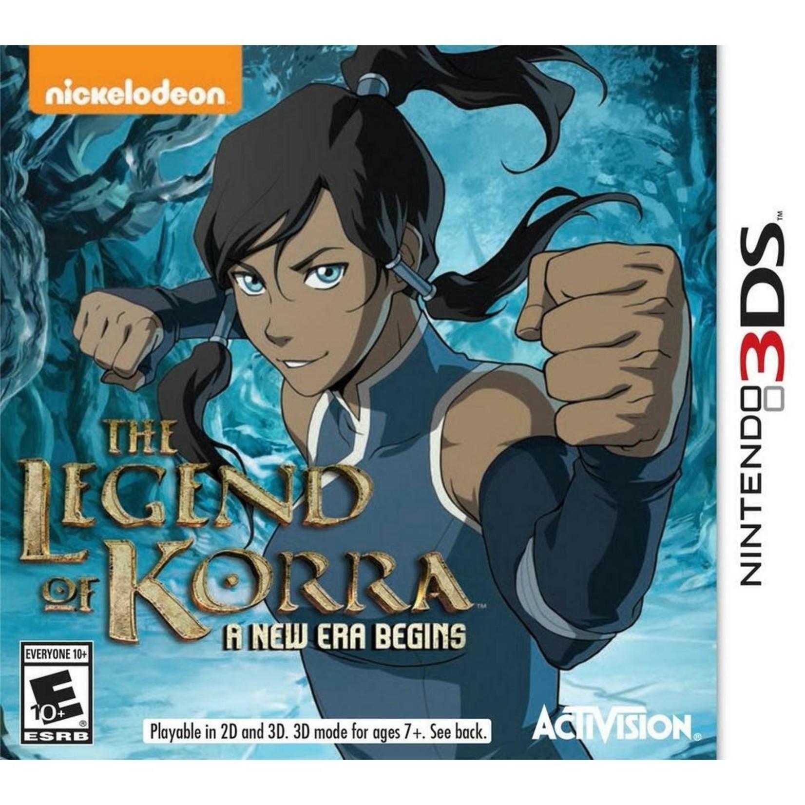 3DS-The Legend of Korra: A New Era Begins