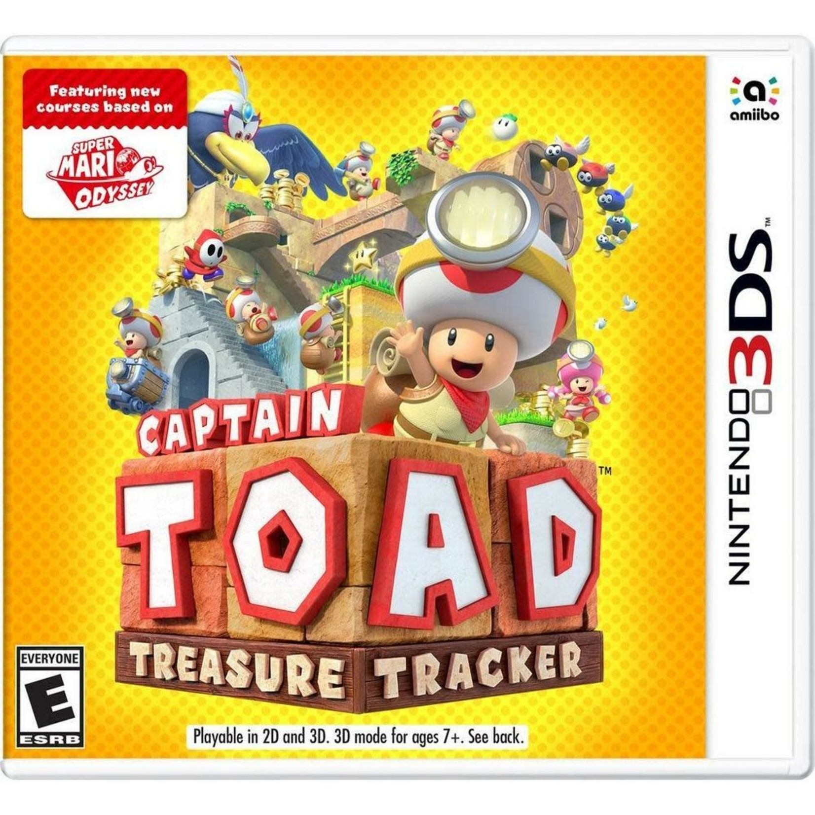 3DS-Captain Toad: Treasure Tracker