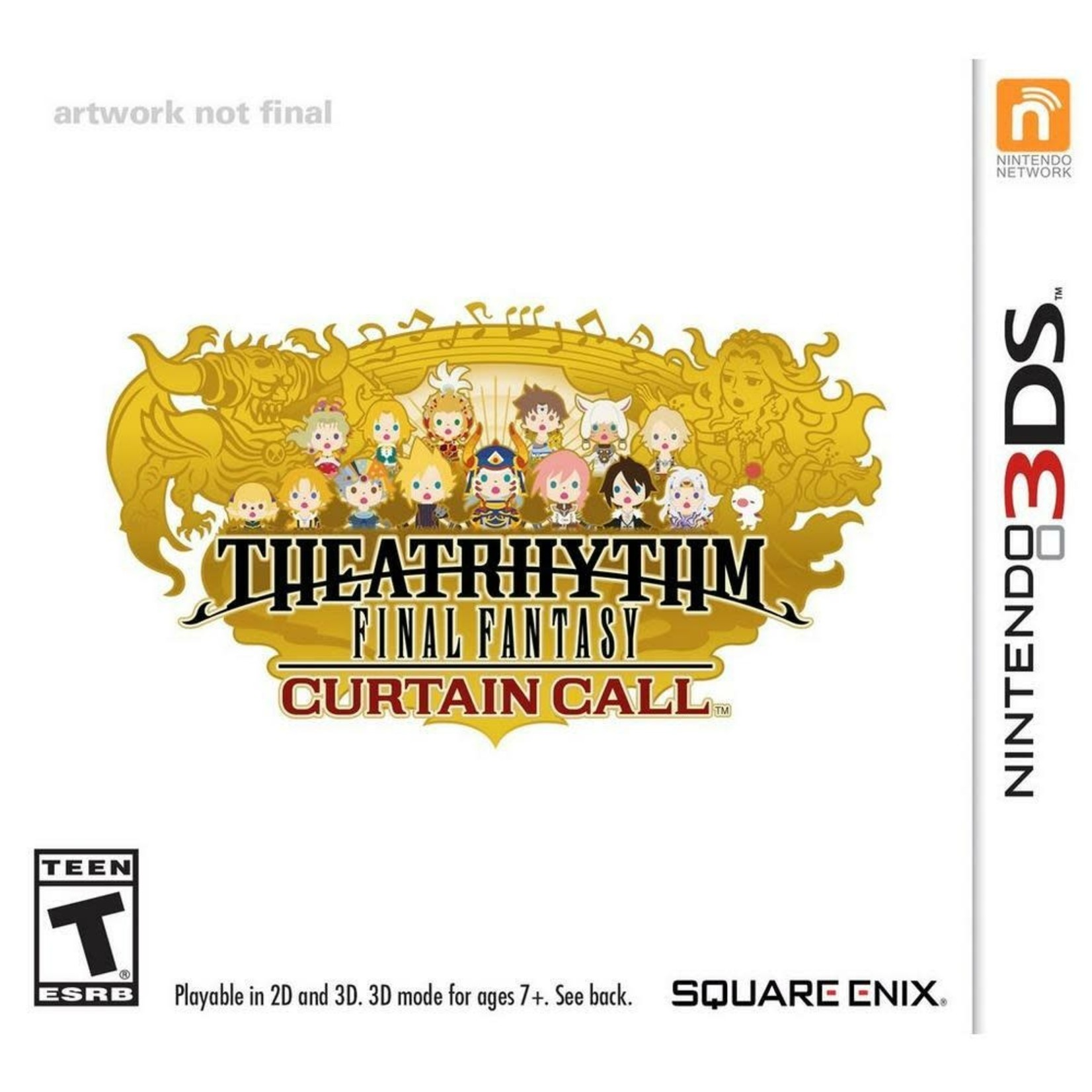 3DS-Theatrhythm Final Fantasy Curtain Call