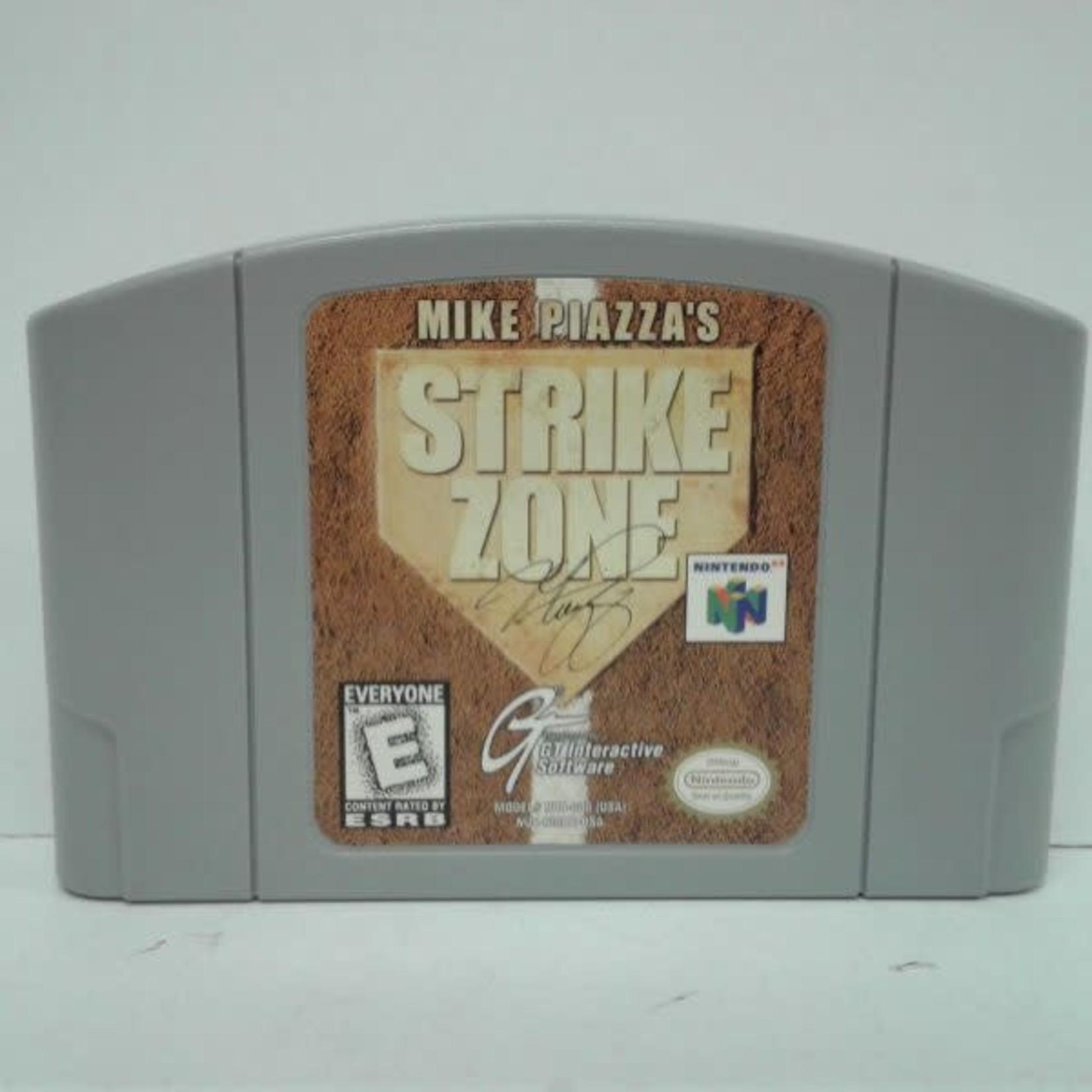 N64U-Mike piazza's strike zone (cartridge)