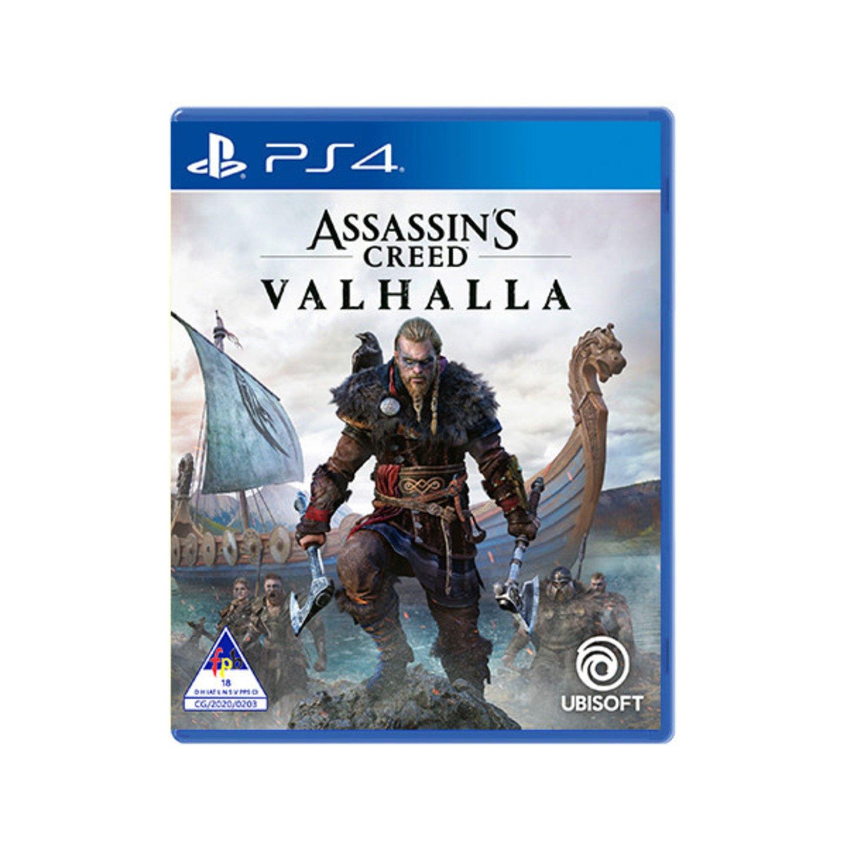 PS4-Assassin's Creed Valhalla