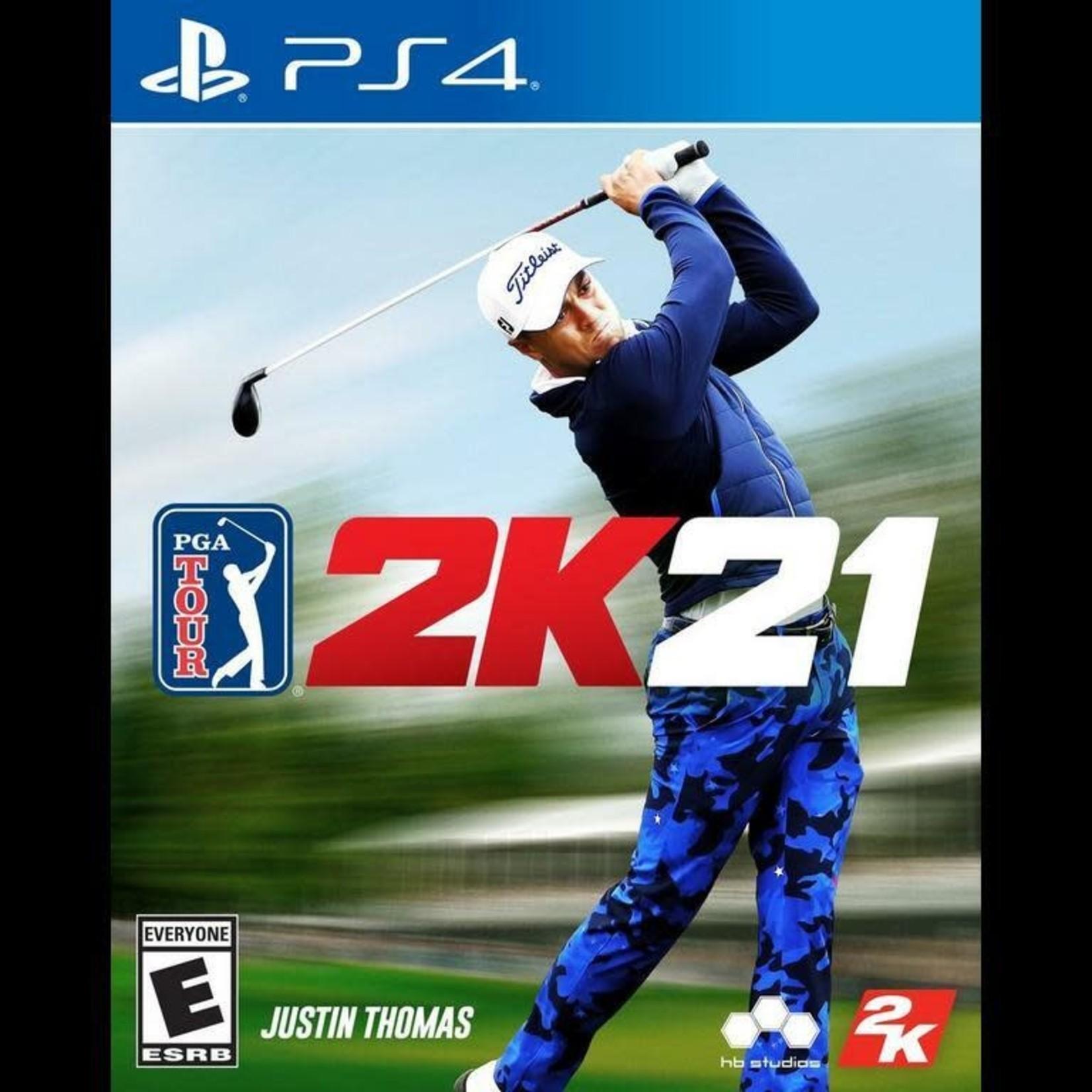 PS4-PGA Tour 2K21