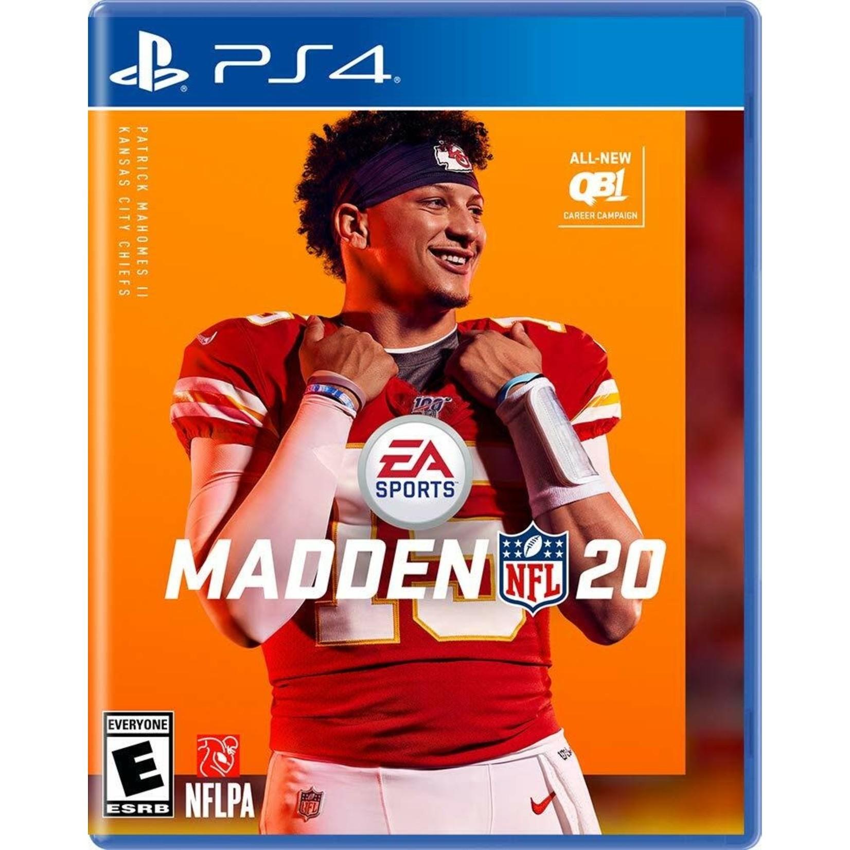 PS4-Madden NFL 20
