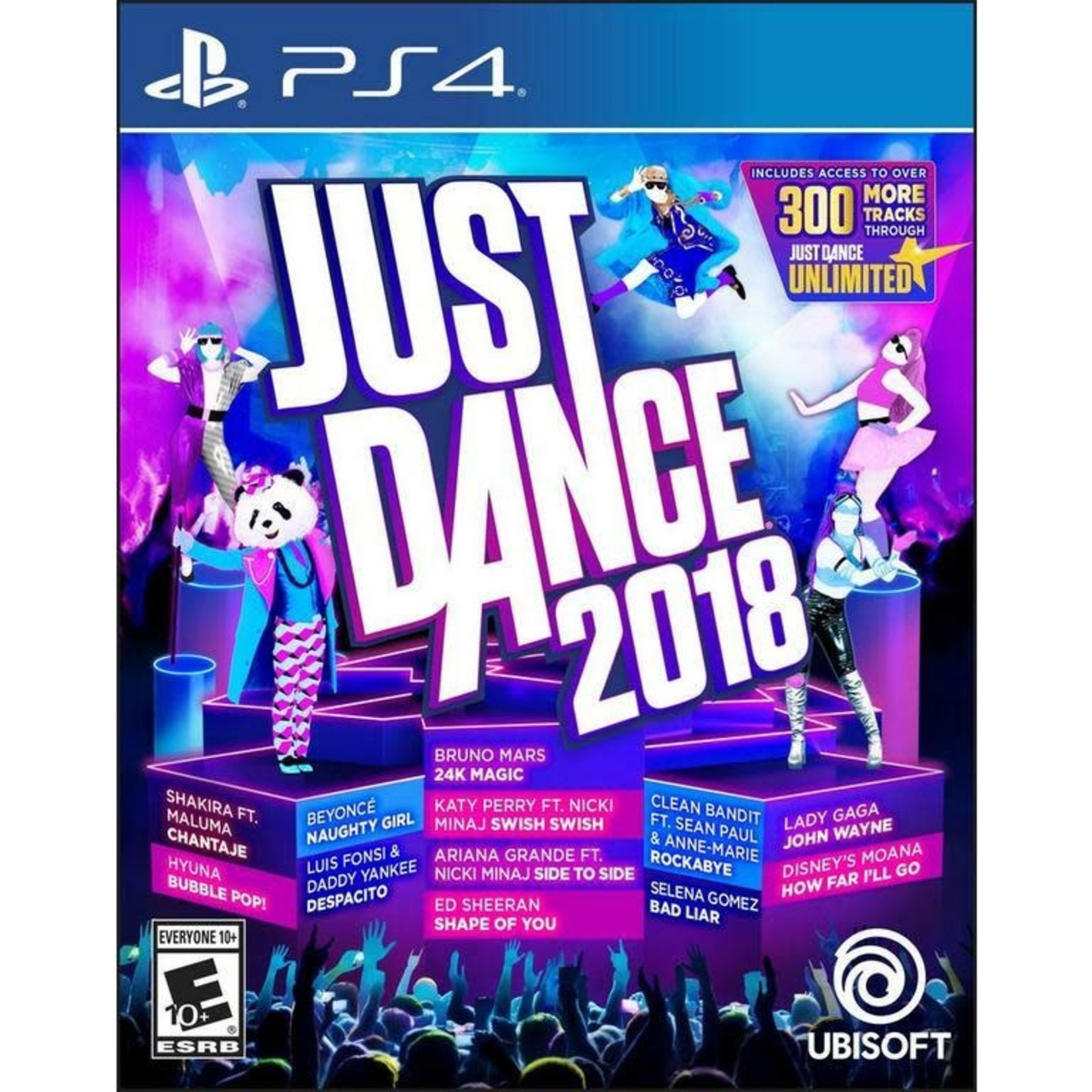PS4U-Just Dance 2018