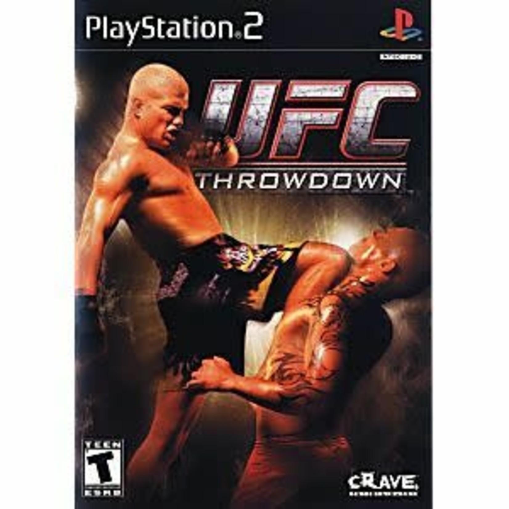 PS2U-UFC Throwdown