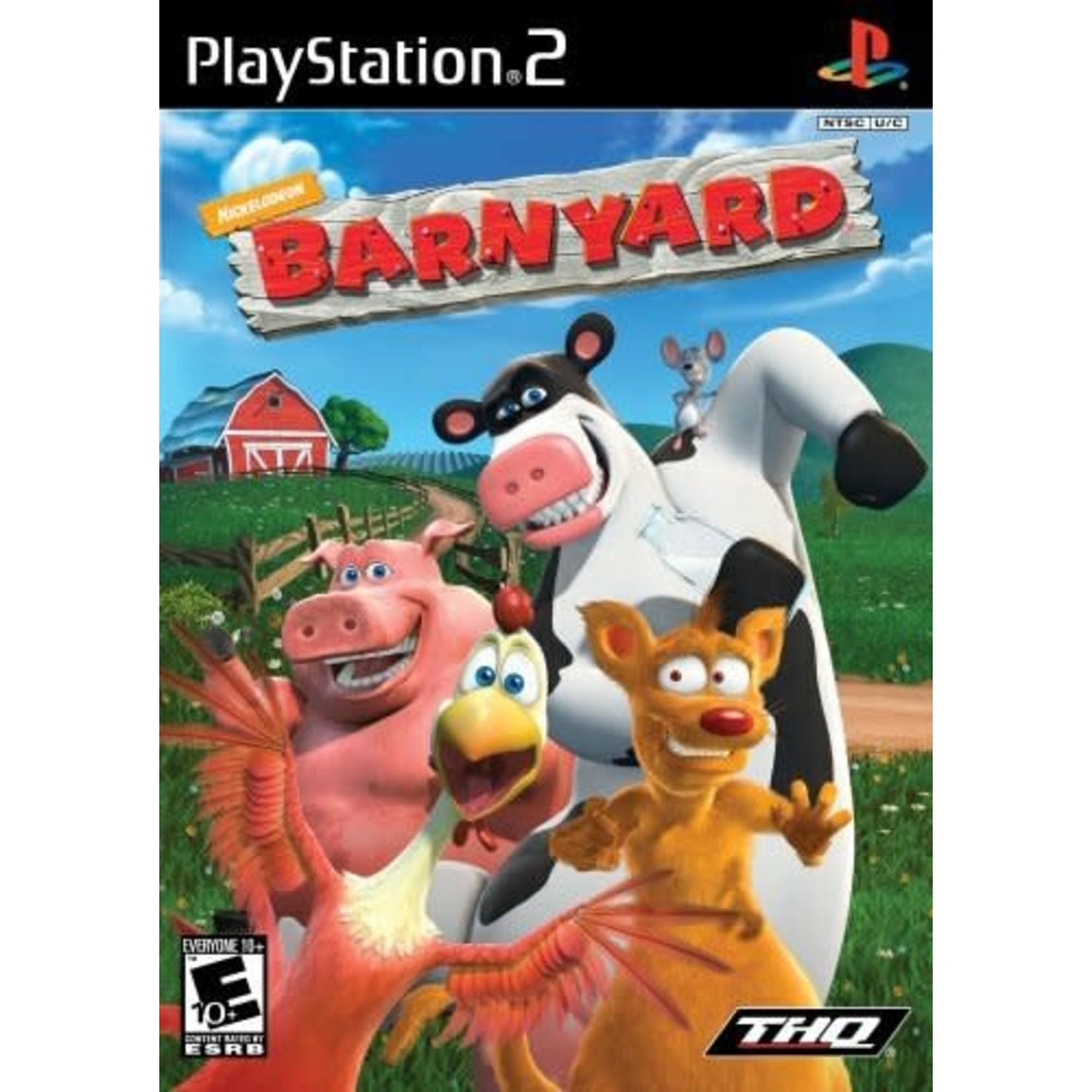 PS2U-Nicktoons Barnyard