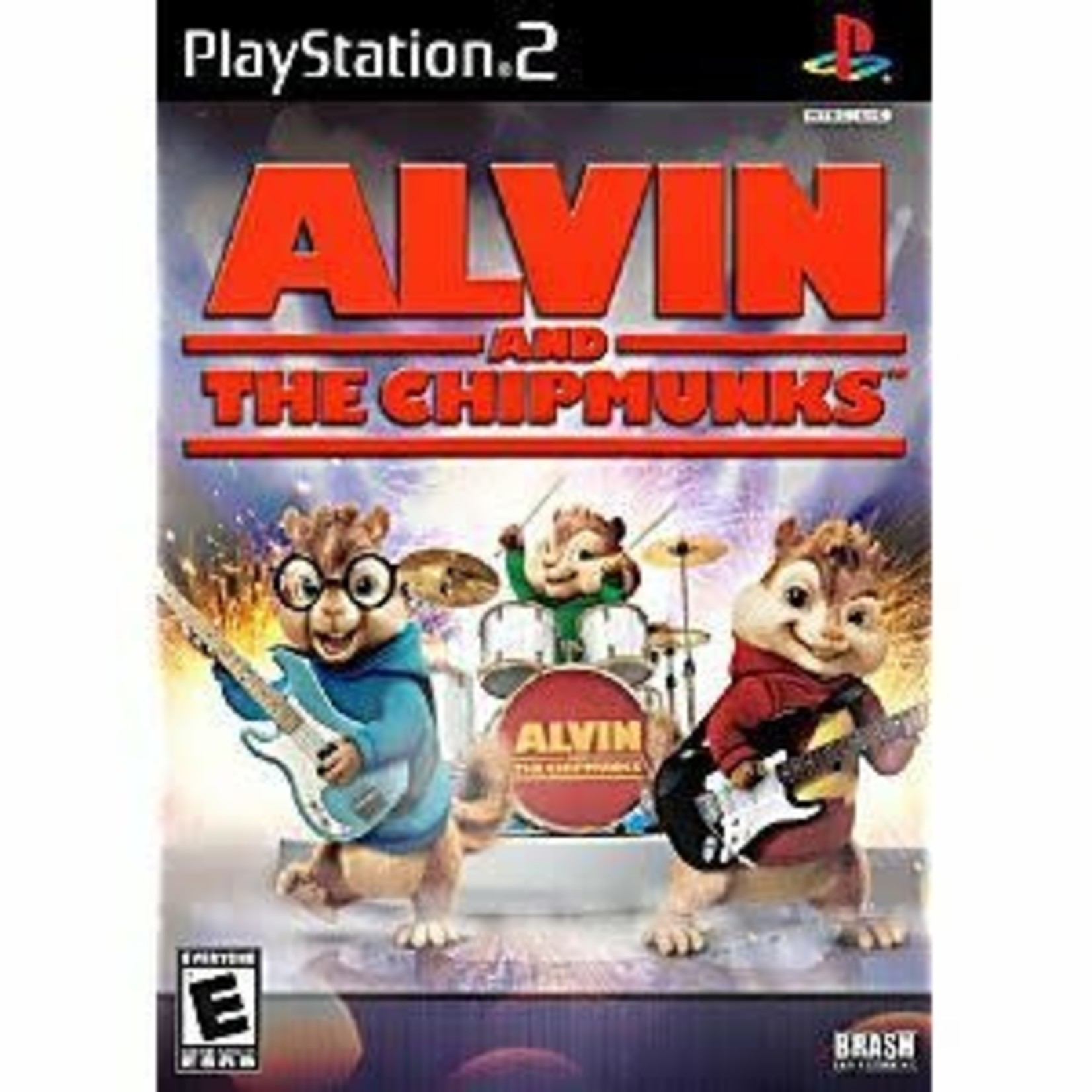 PS2U-ALVIN AND THE CHIPMUNKS