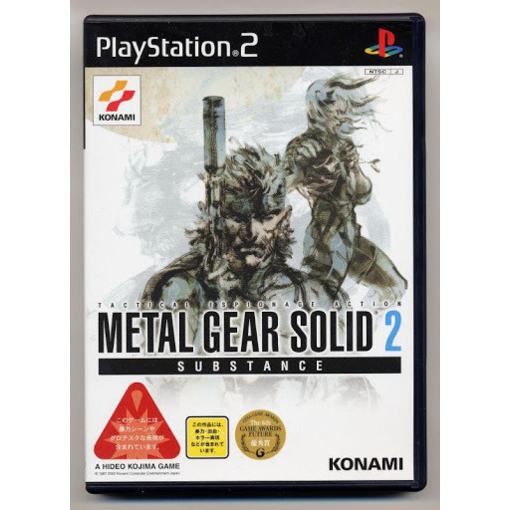 IMPORT-PS2U-Metal Gear Solid 2 Substance