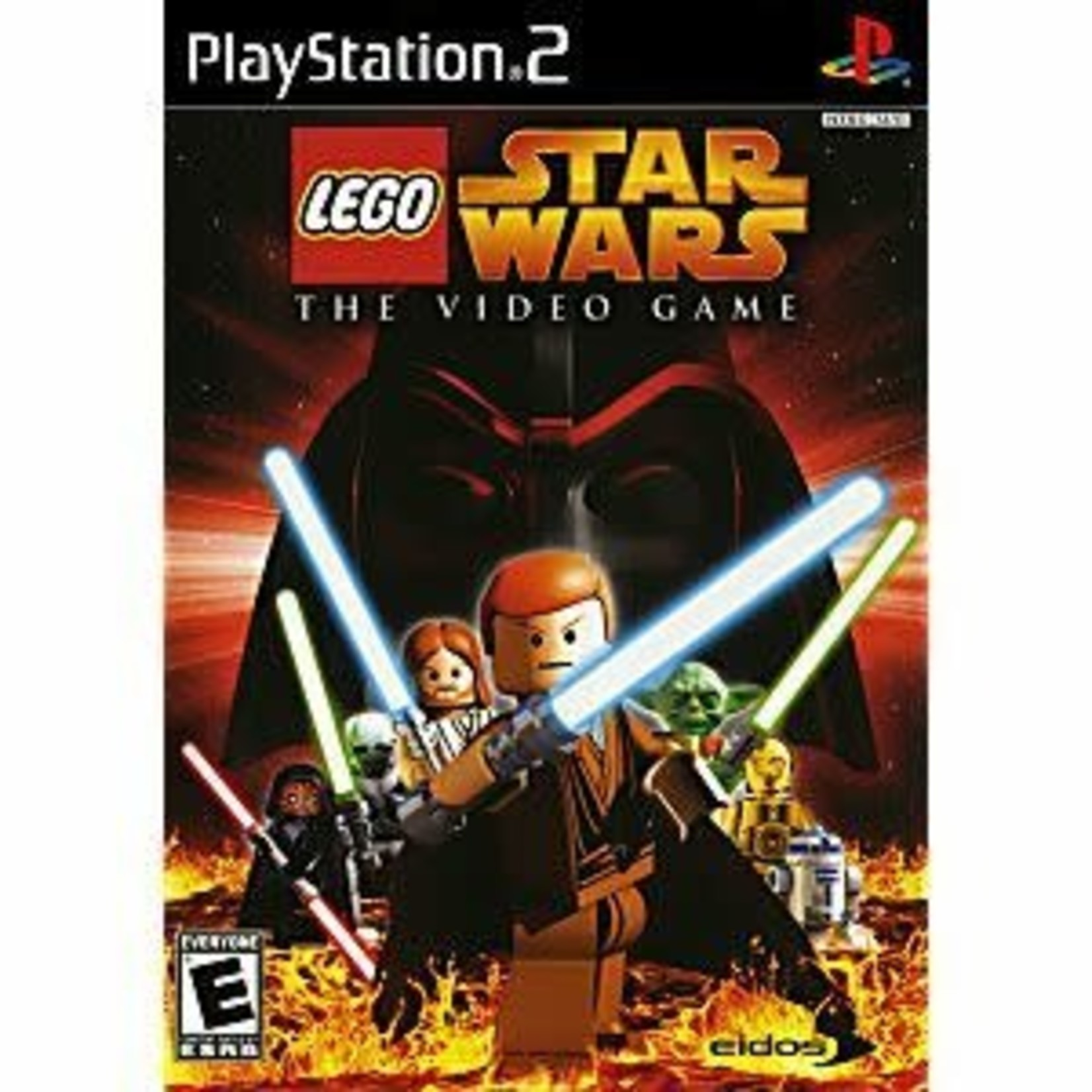 PS2U-LEGO STAR WARS THE VIDEO GAME