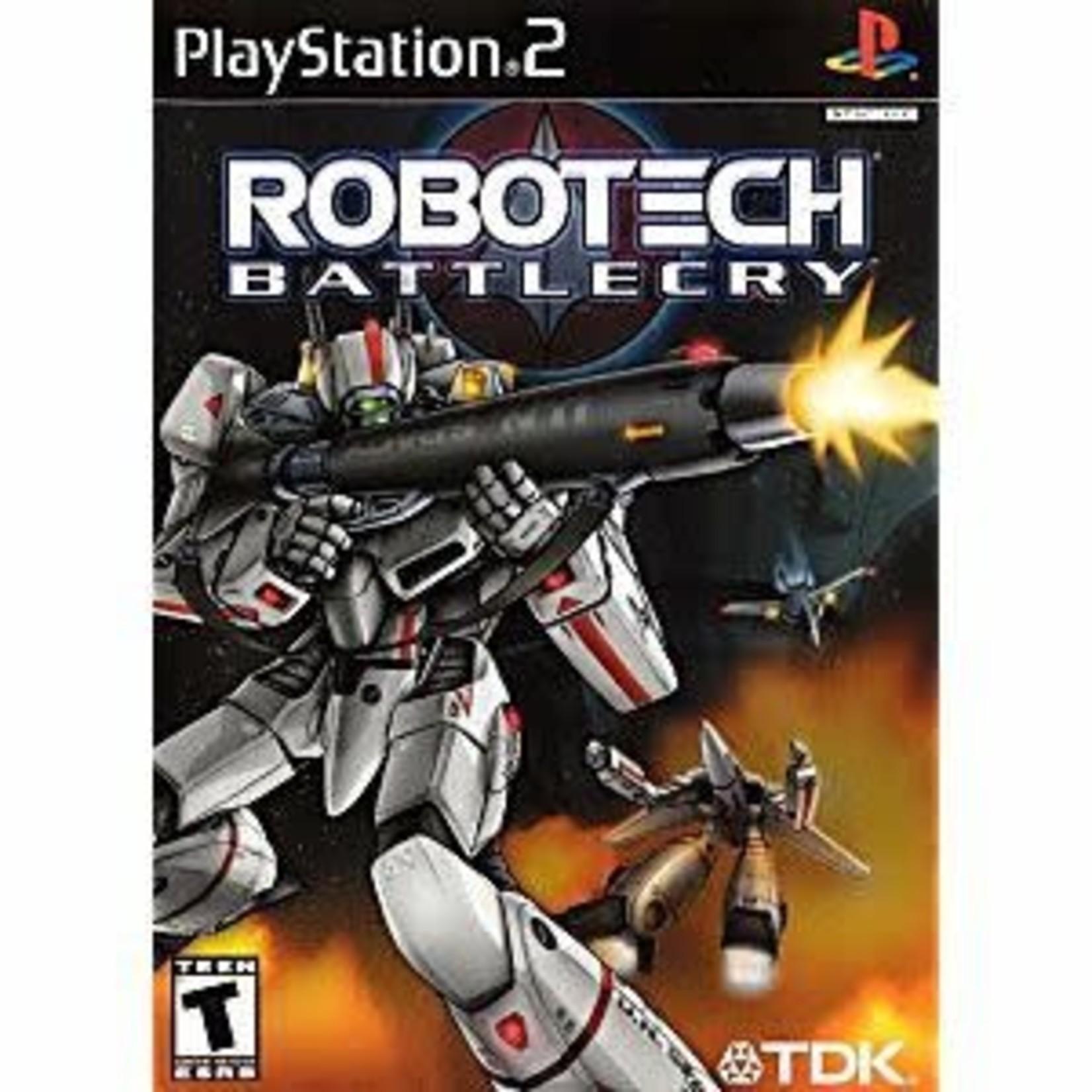 PS2U-ROBOTECH BATTLECRY