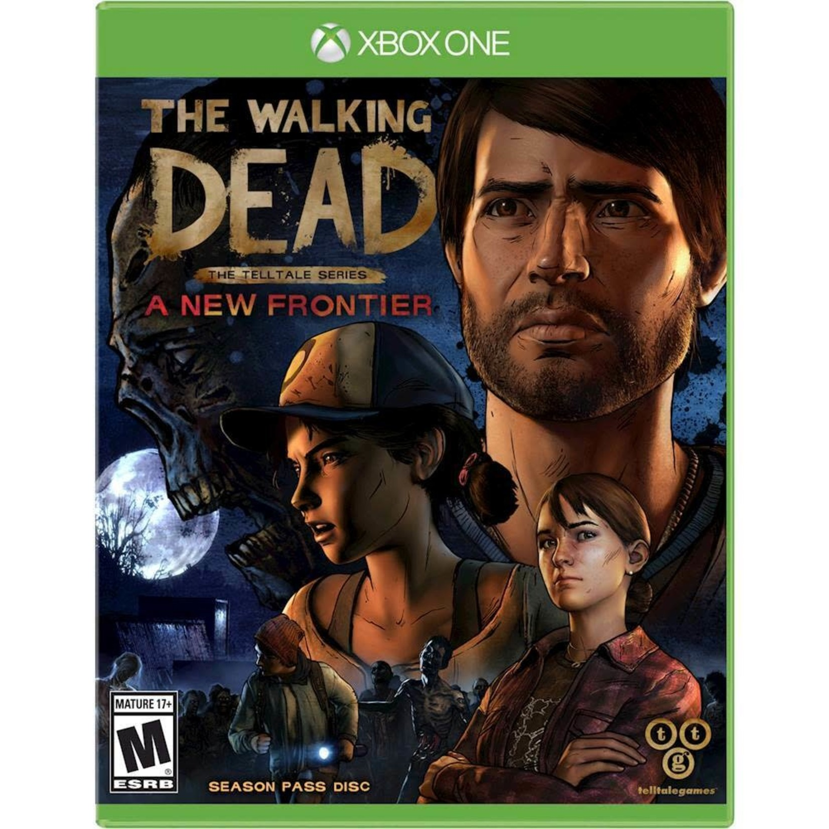xb1-The Walking Dead: A New Frontier