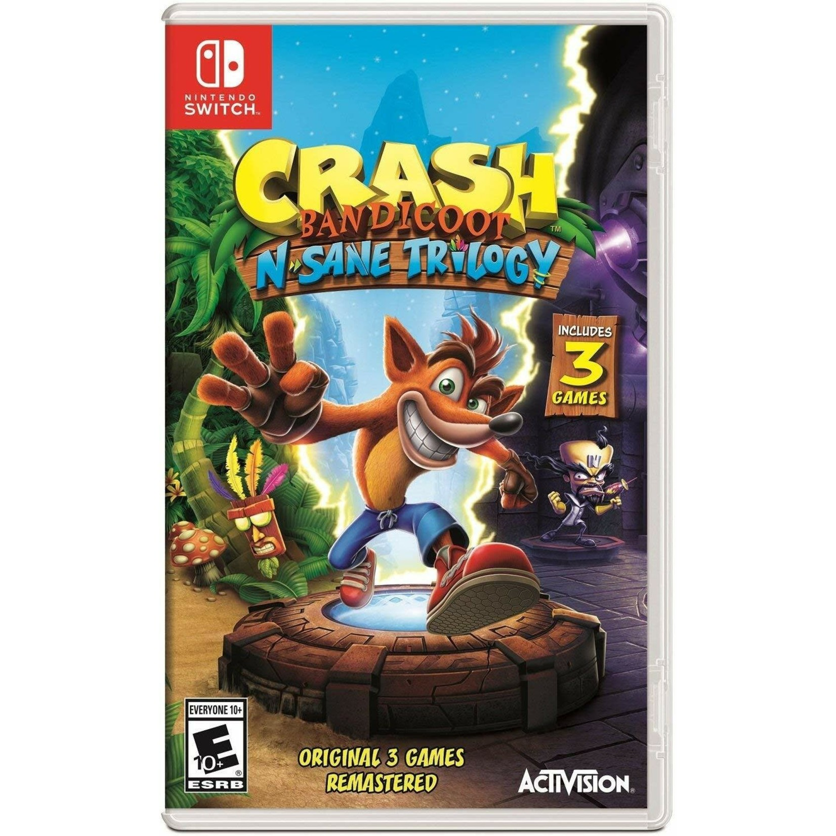 SWITCHU-Crash Bandicoot N.Sane Trilogy